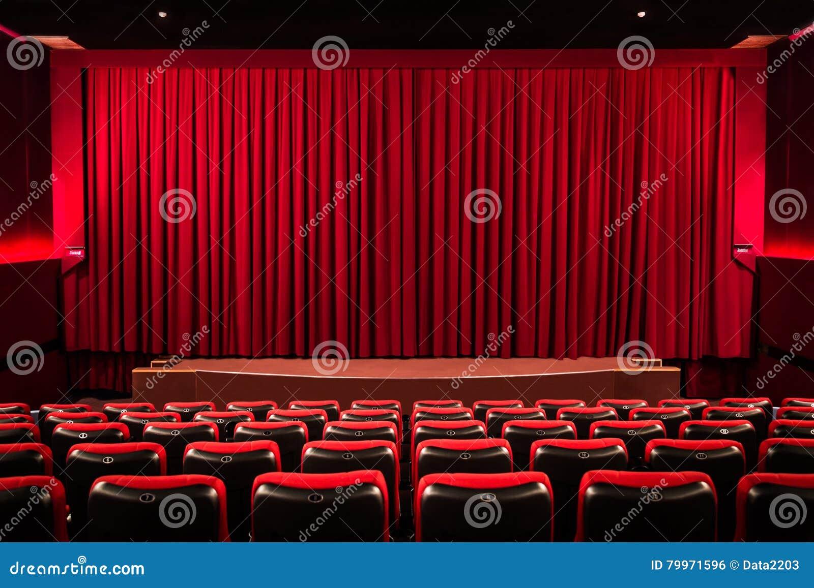 Zasłona w kinie