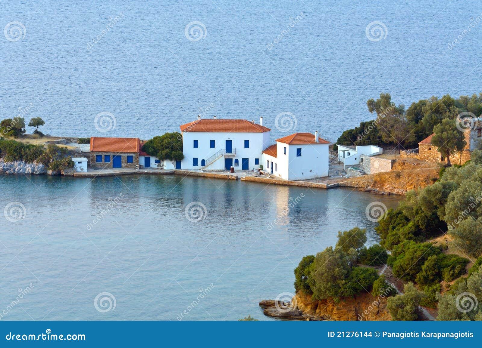 Zasteni bay at Pelion in Greece