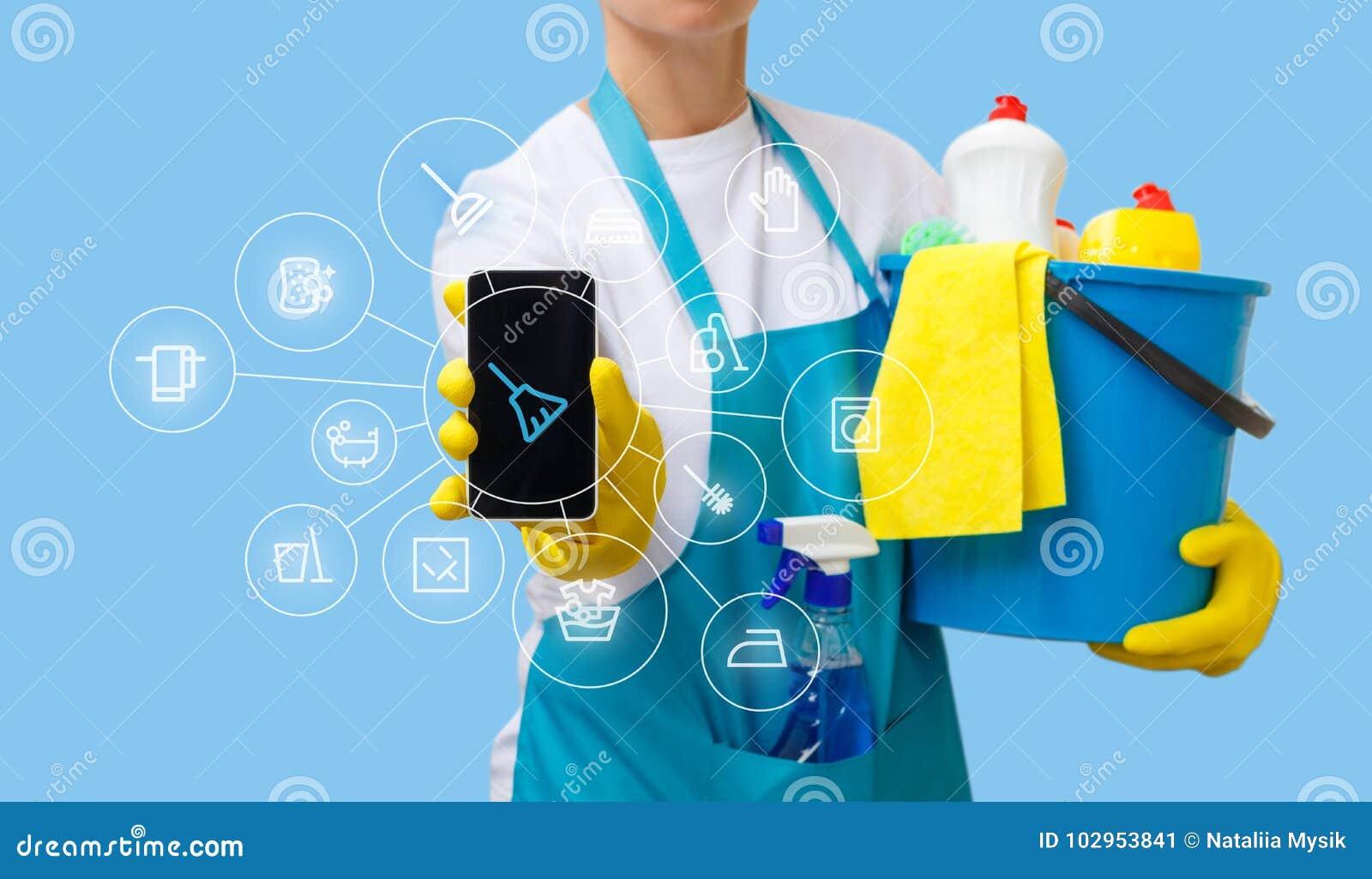 Zastosowanie housekeeping usługa w telefonie komórkowym