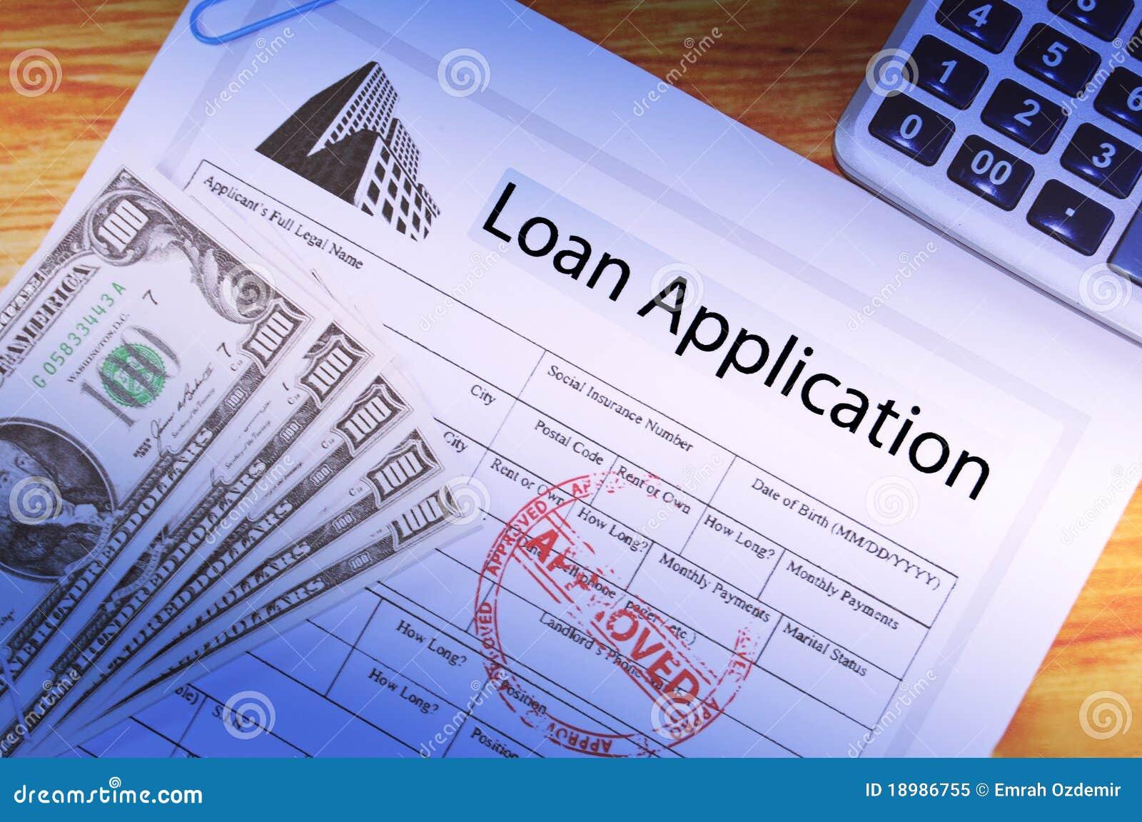Zastosowanie pożyczka