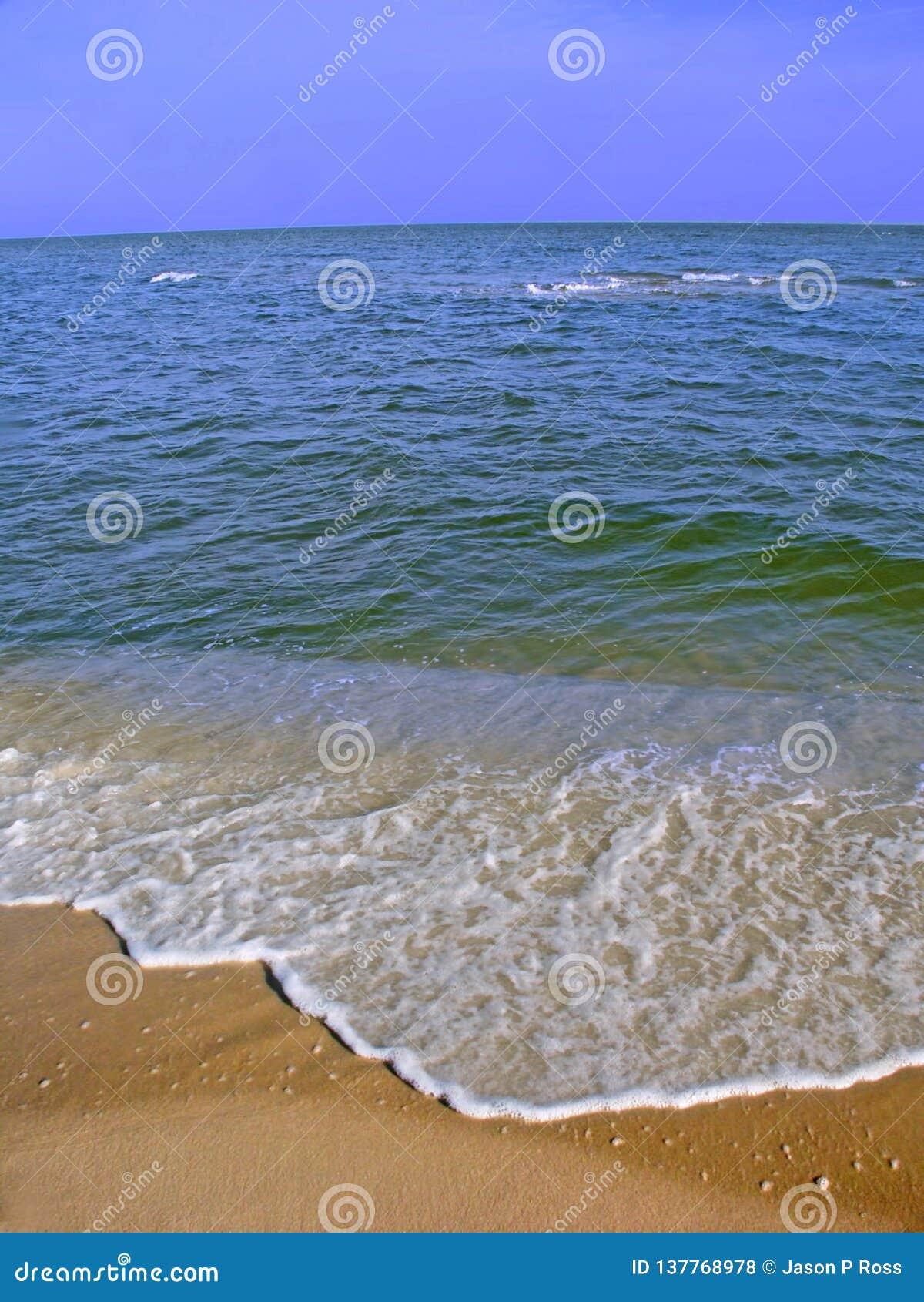 Zatok wysp Seashore Krajowa plaża