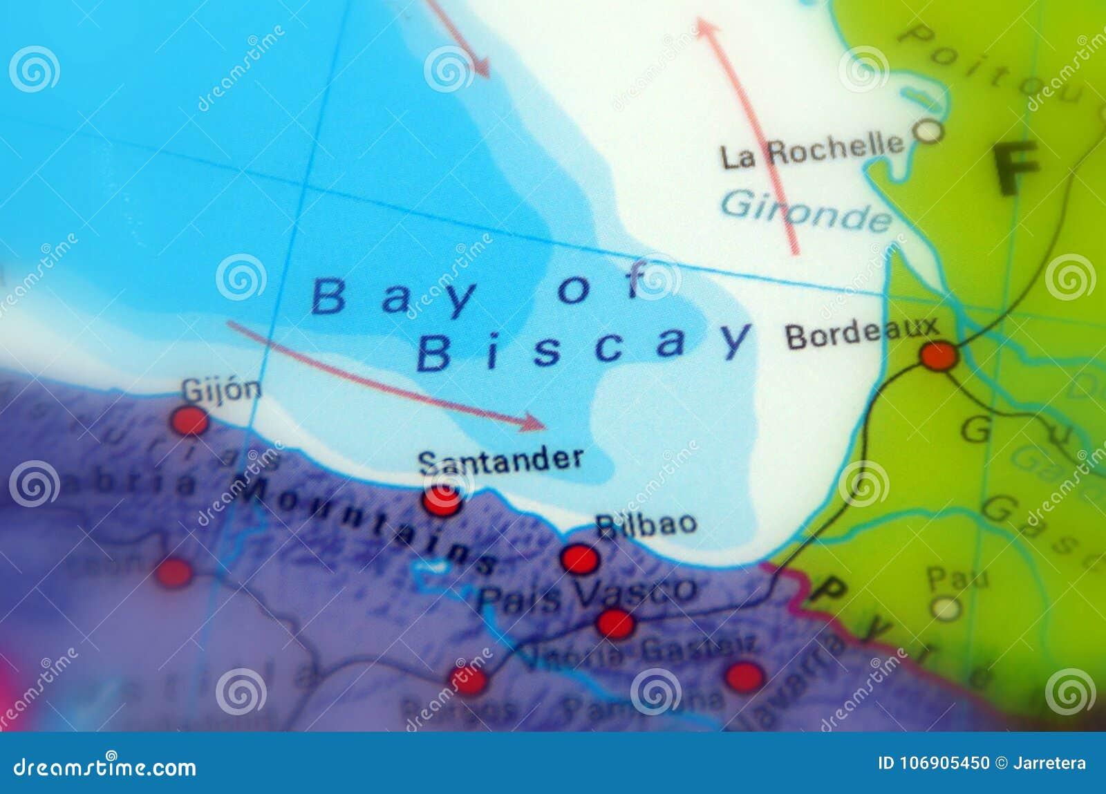 Zatoka Biskajski, północnego wschodu Atlantyk ocean