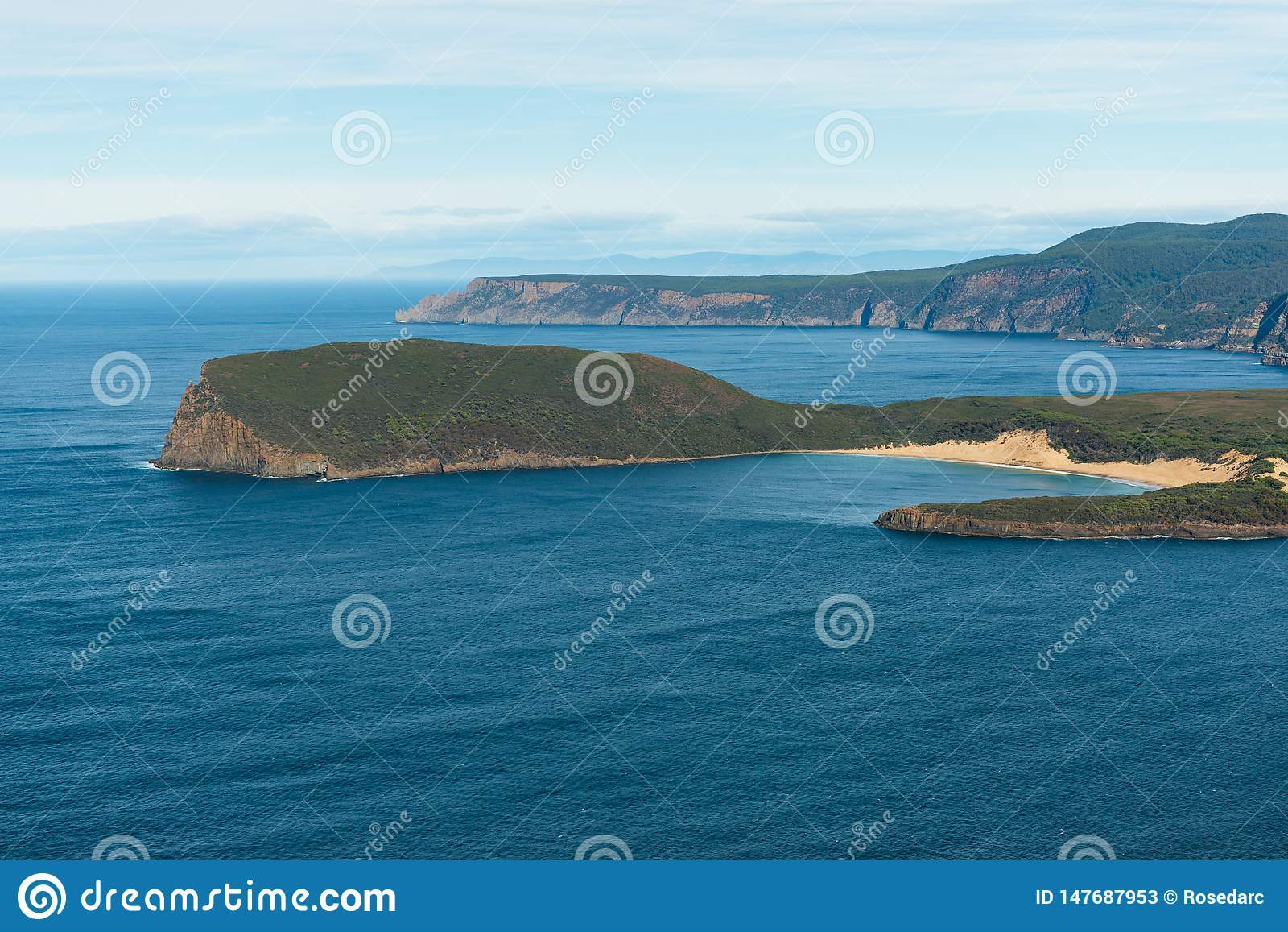 Zatoka przy port arthur, Tasmania