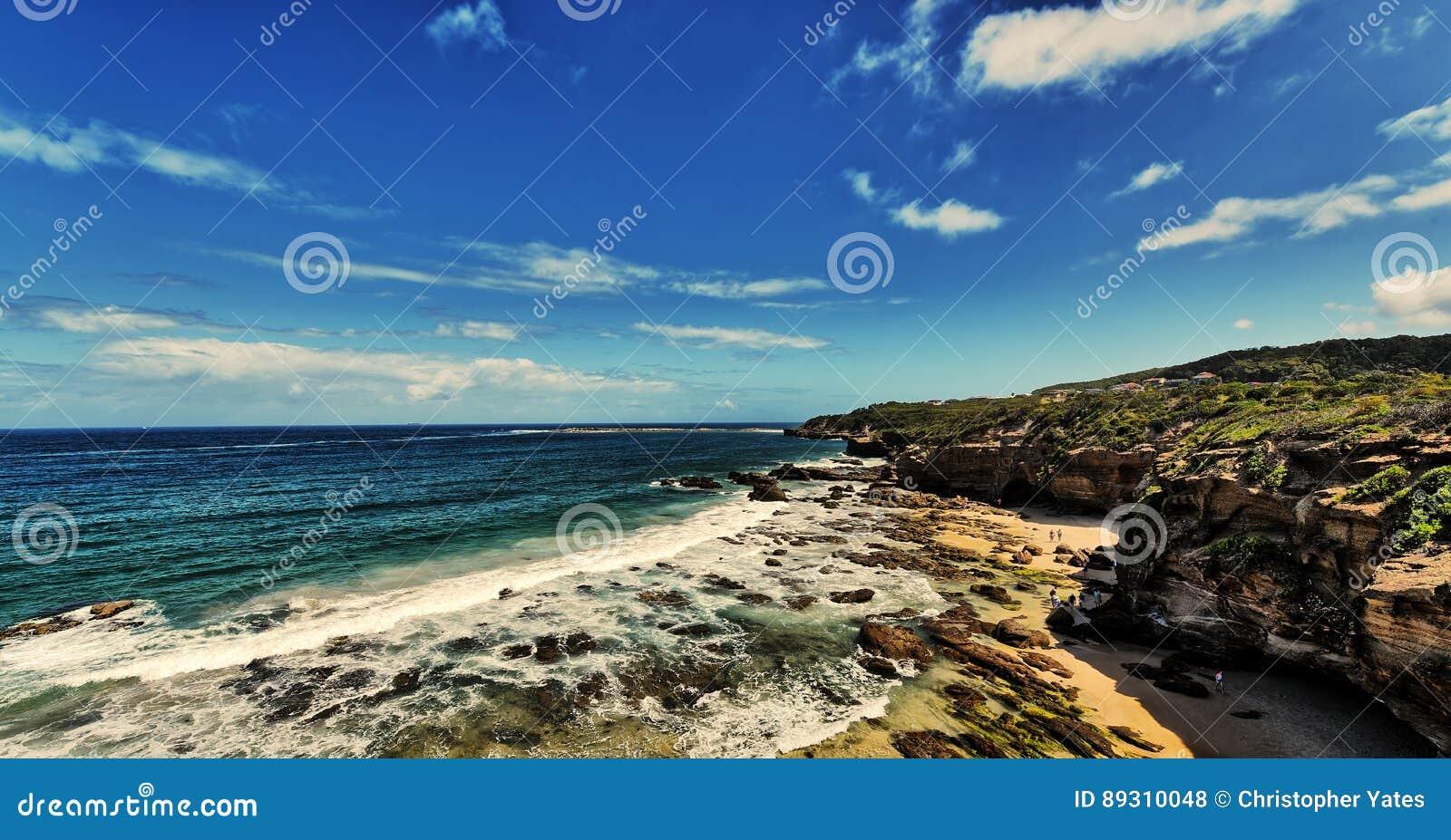 Zawala się plażę
