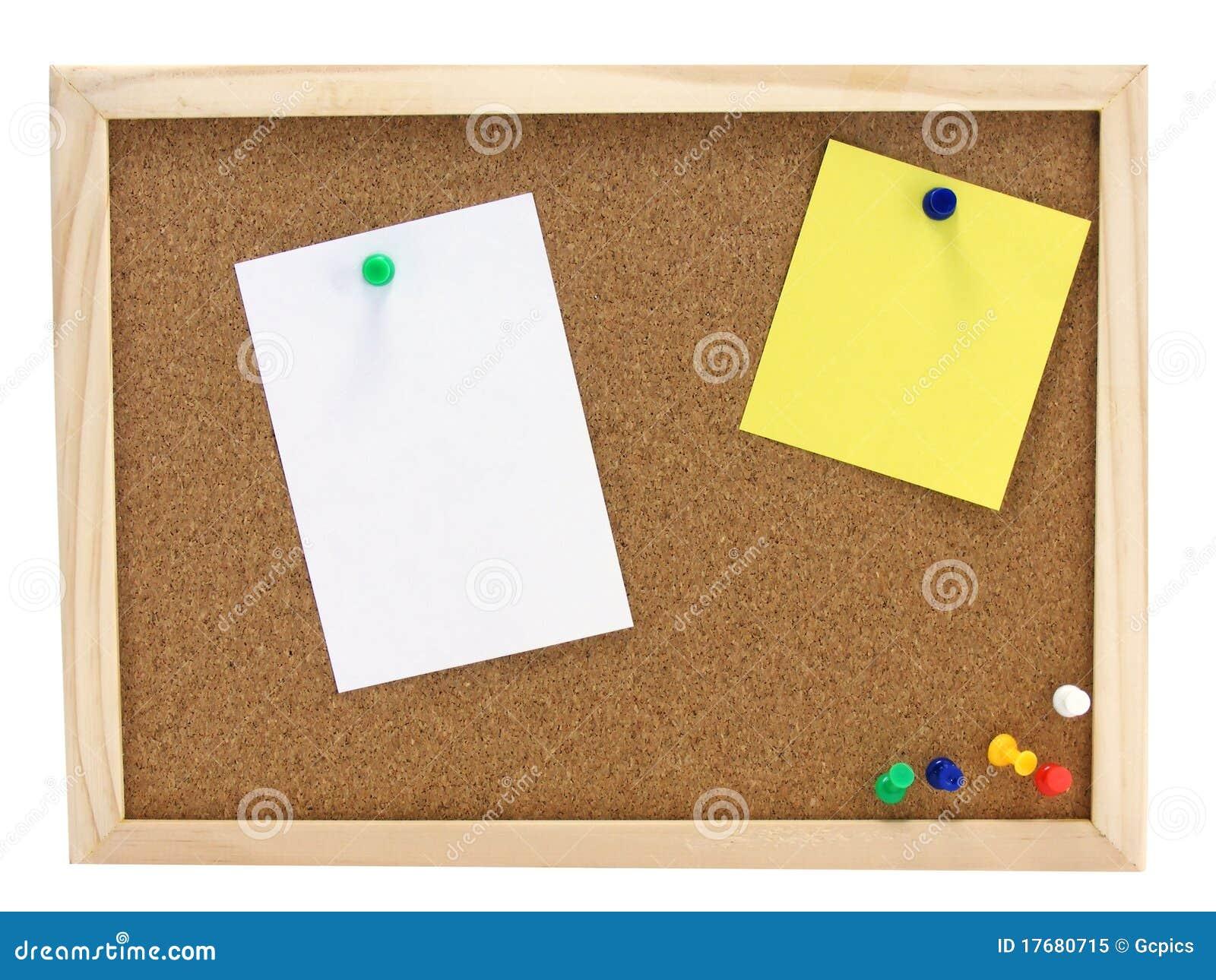Zawiadomienia deskowy pinboard
