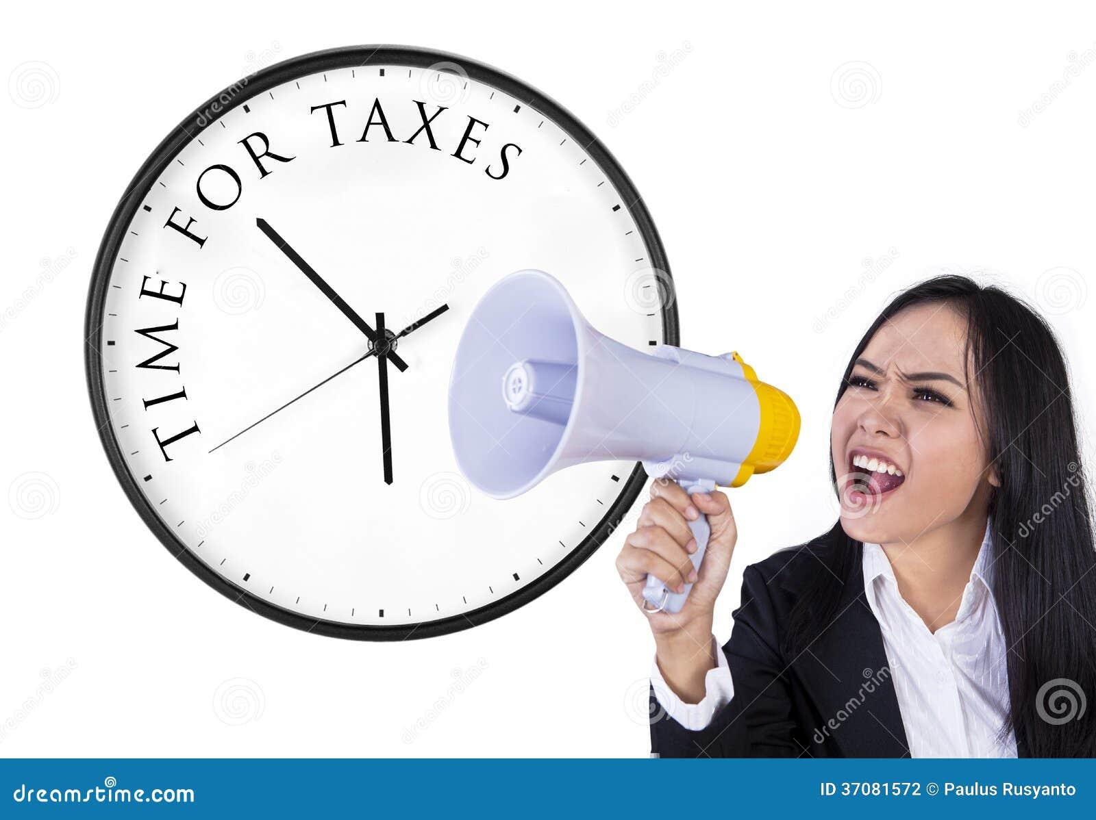 Download Zawiadomienie Czas Dla Podatków Zdjęcie Stock - Obraz złożonej z dorosły, chińczyk: 37081572