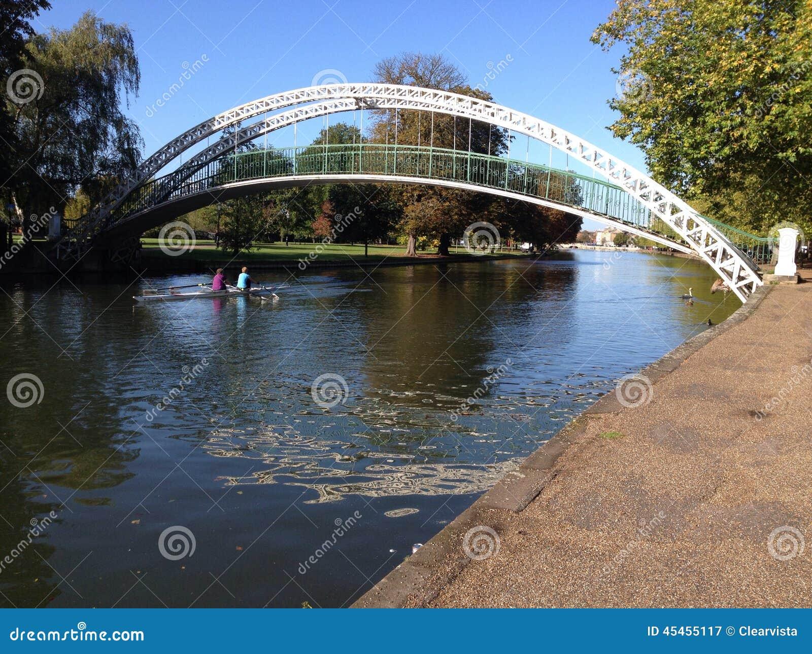 Zawieszenie most, Bedford, Zjednoczone Królestwo