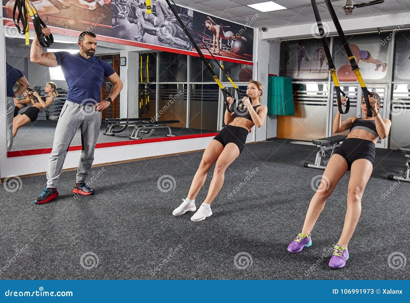 Zawieszenie troczy trening