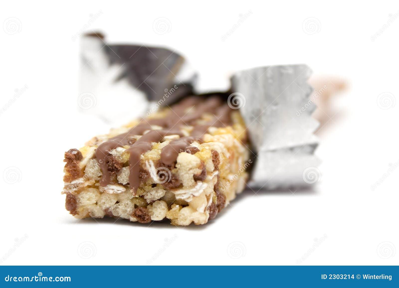 Zawinięte granola bar