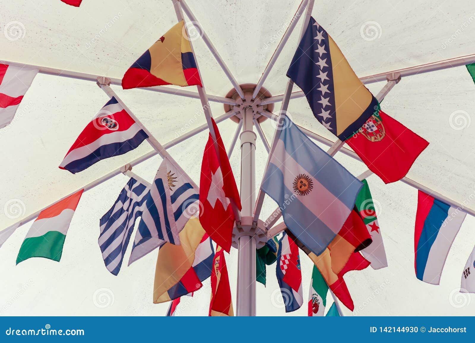 Zawody międzynarodowi flagi grupować