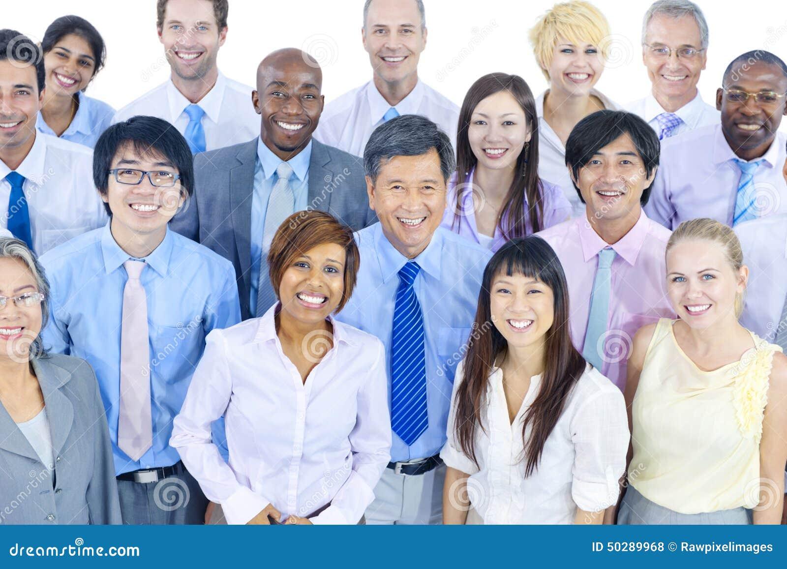 Zawody międzynarodowi Spotykać Zieleni ludzie biznesu