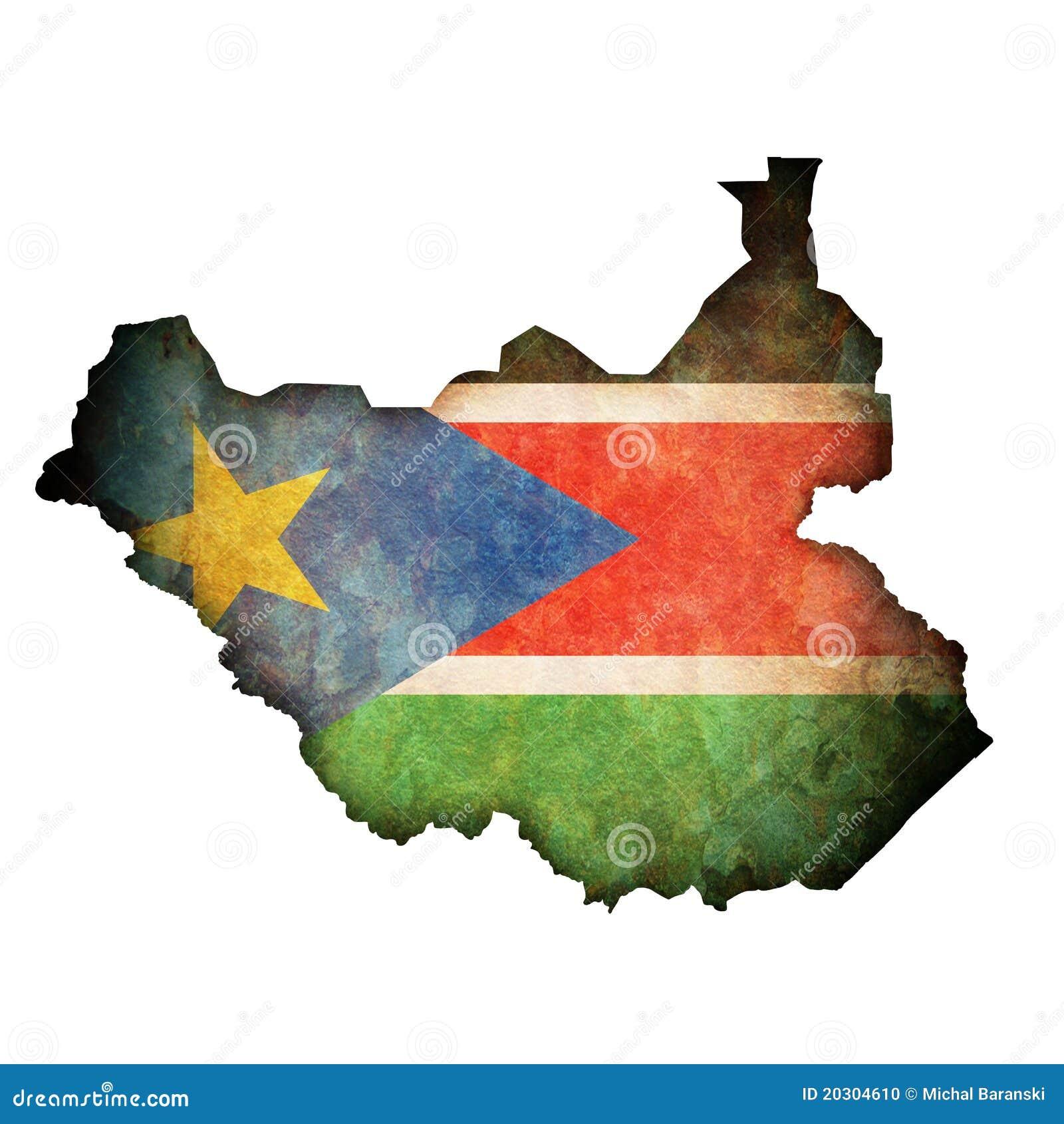 Zaznacza Sudan swój południowego terytorium