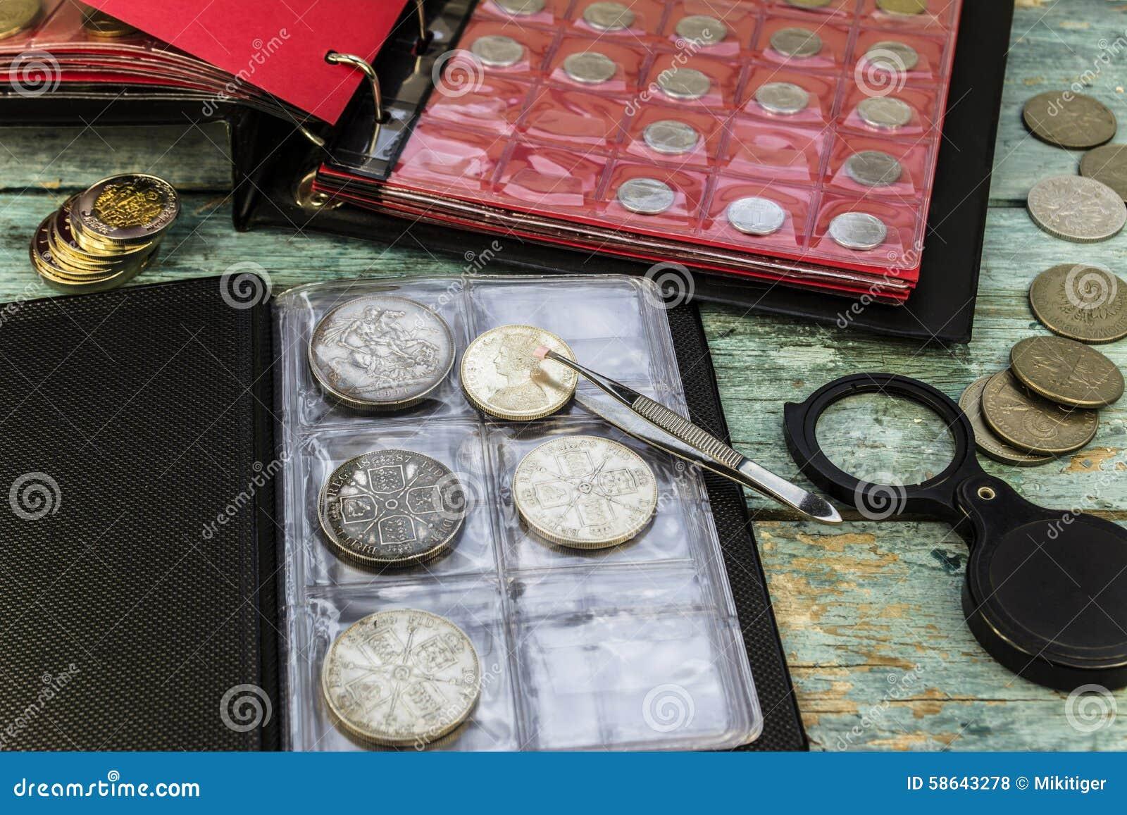 Zbierać stare monety