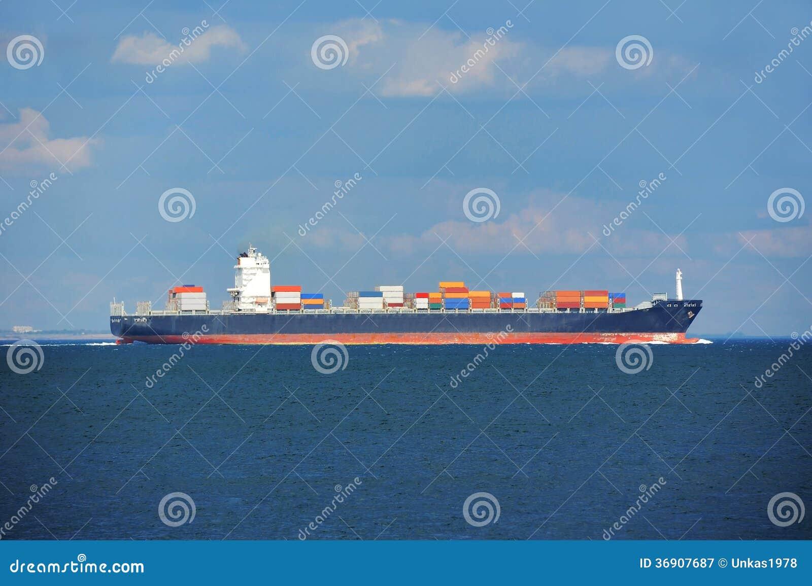 Zbiornika ładunku statek
