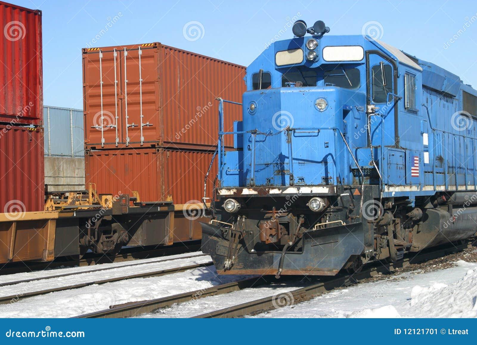 Zbiornika błękitny pociąg