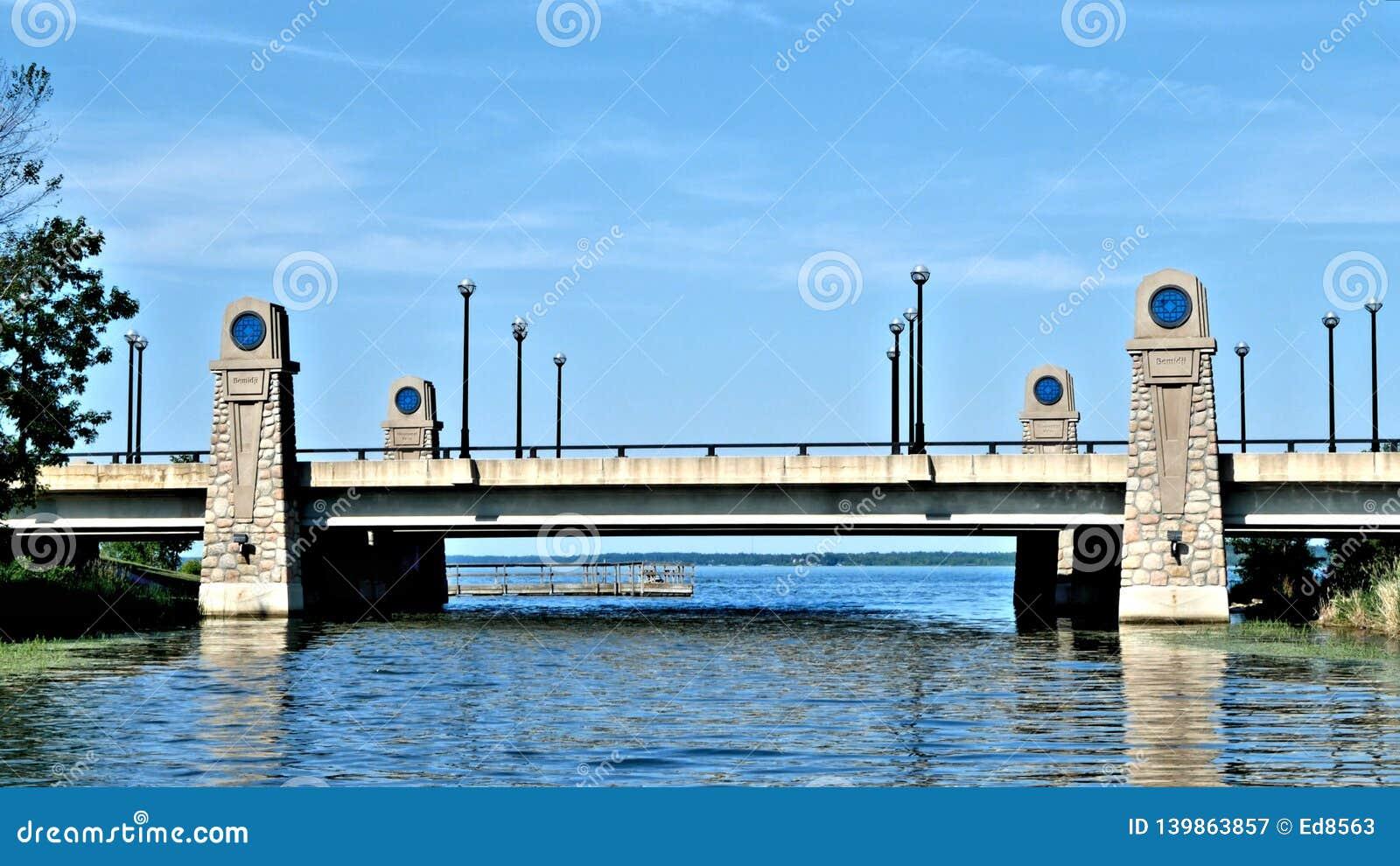 Zbliżać się Jeziorną Bemidji wile kłoszenia północ na rzece mississippi