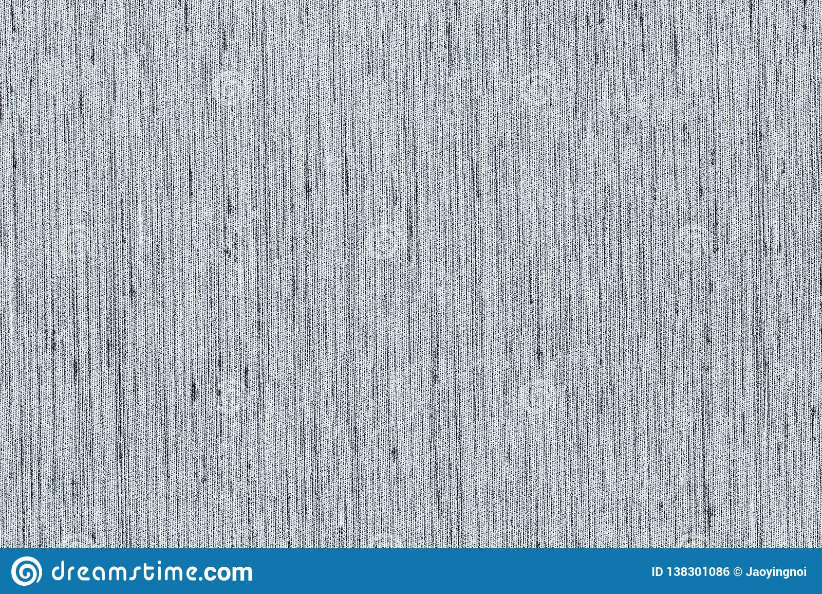 Zbliżenia czarny i biały lub jasnopopielaty kolor tkaniny próbki tekstury tło Jasnopopielaty pasek linii tkaniny wzoru projekt lu