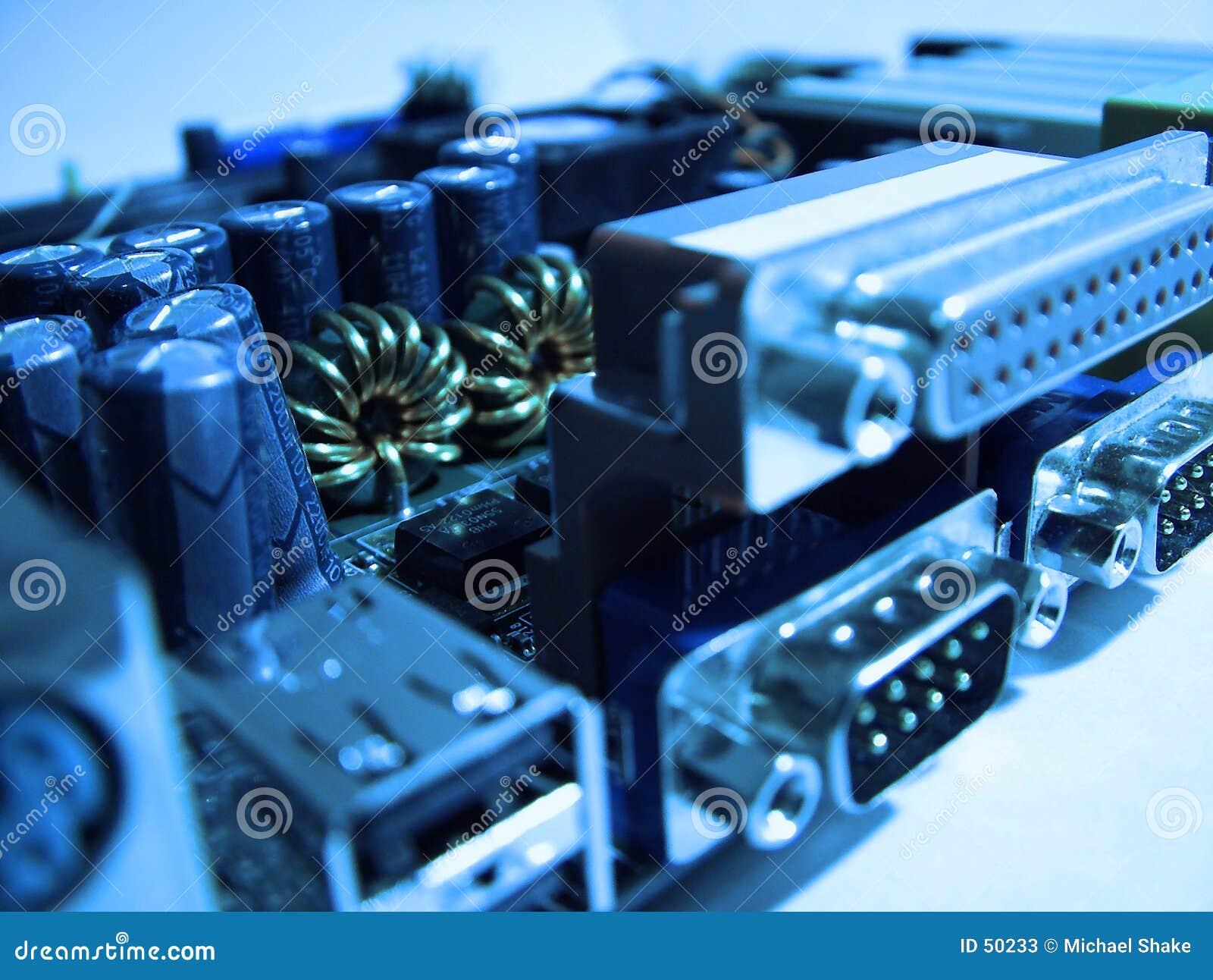 Zbliżenie komputer zarządu