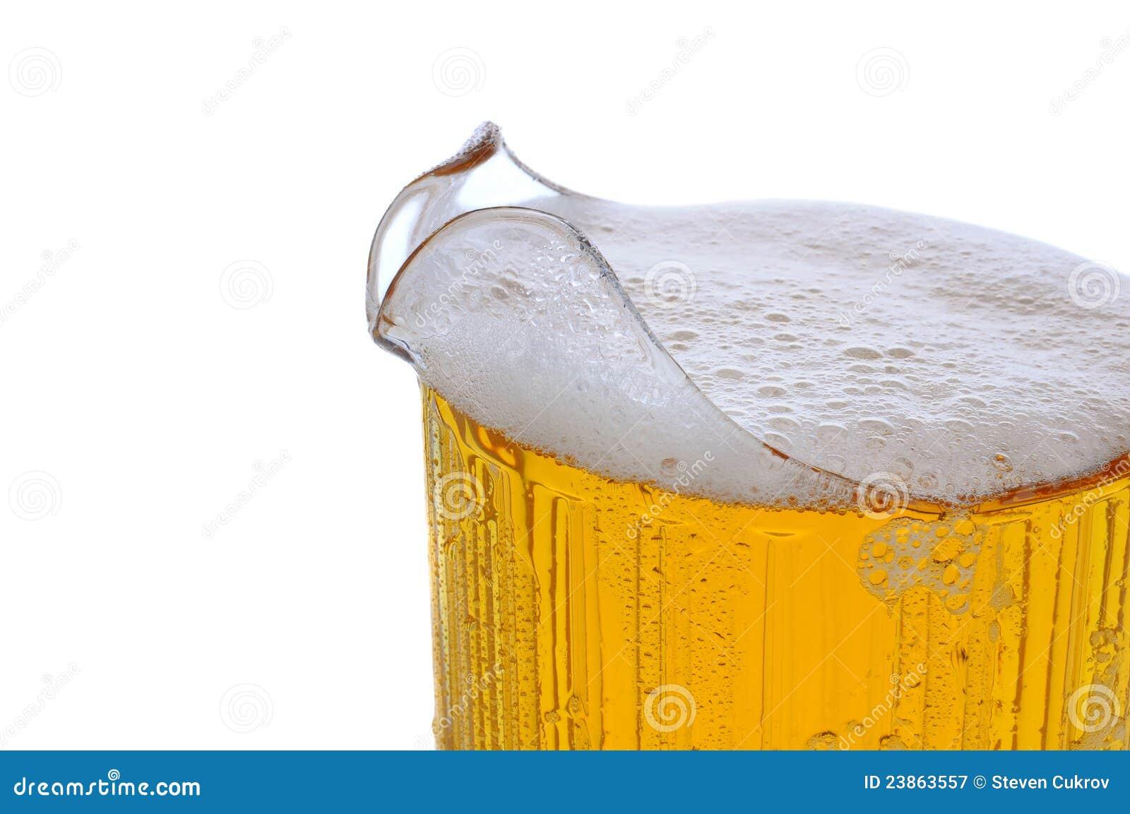 Zbliżenie piwny miotacz