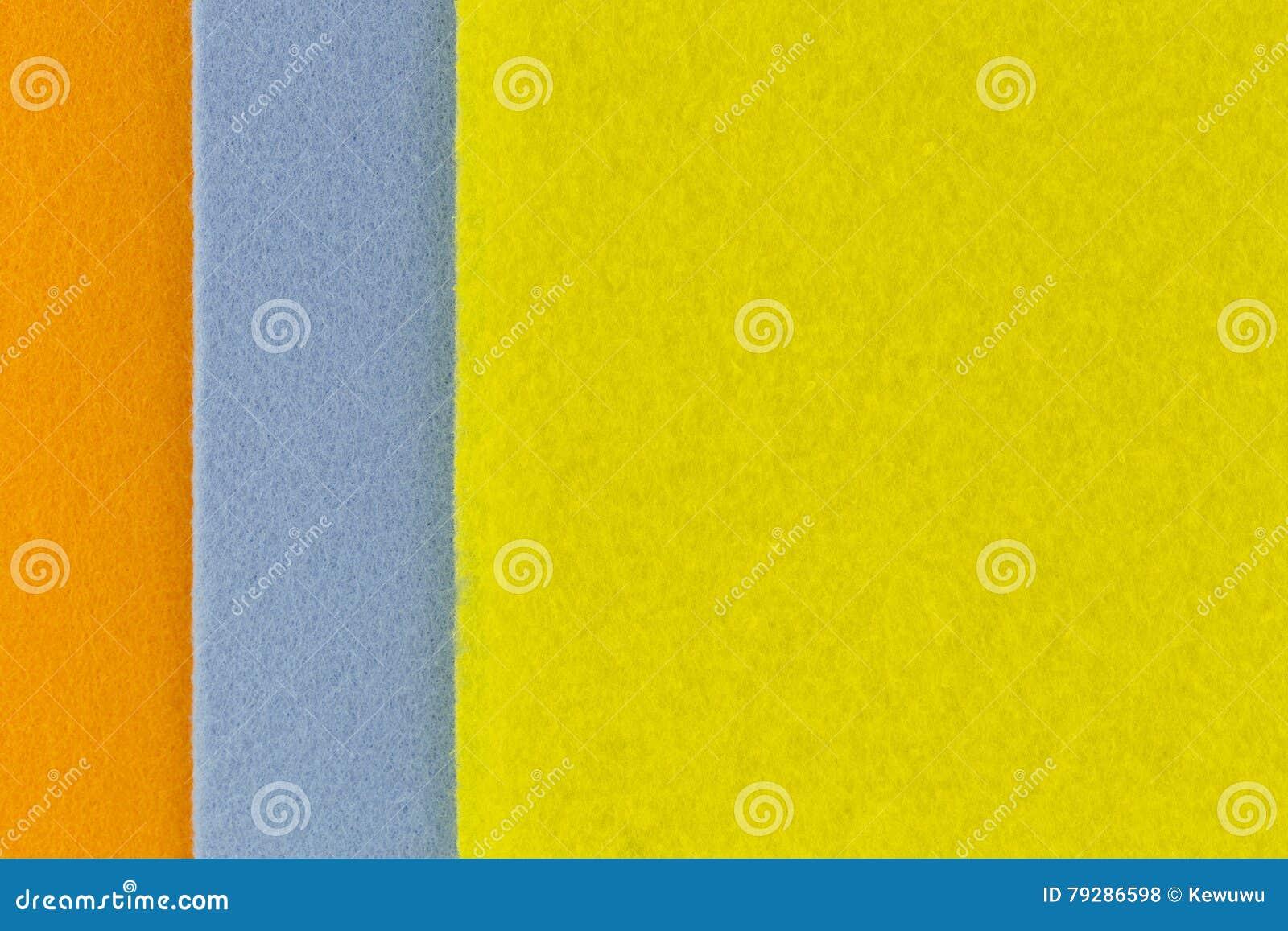 Zbliżenie tekstury fotografia super absorbent tkaniny w pomarańczowym błękicie
