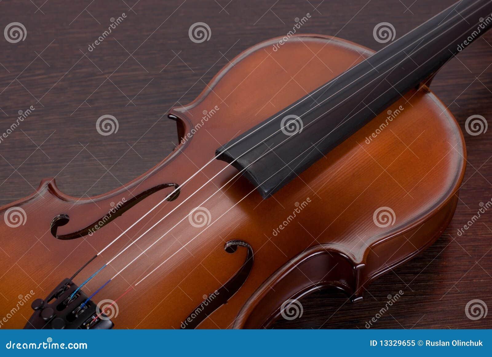 Zbliżenie skrzypce