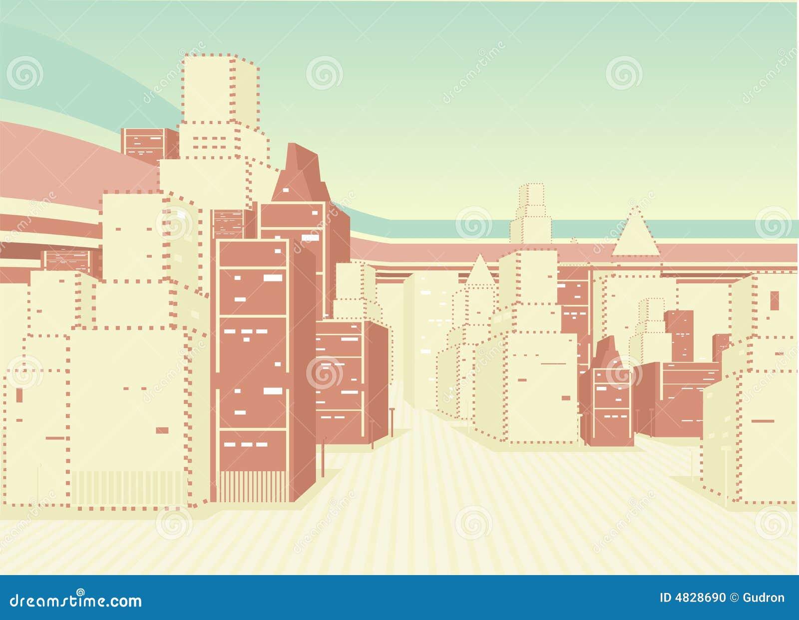 Zbudować tła miejskiego