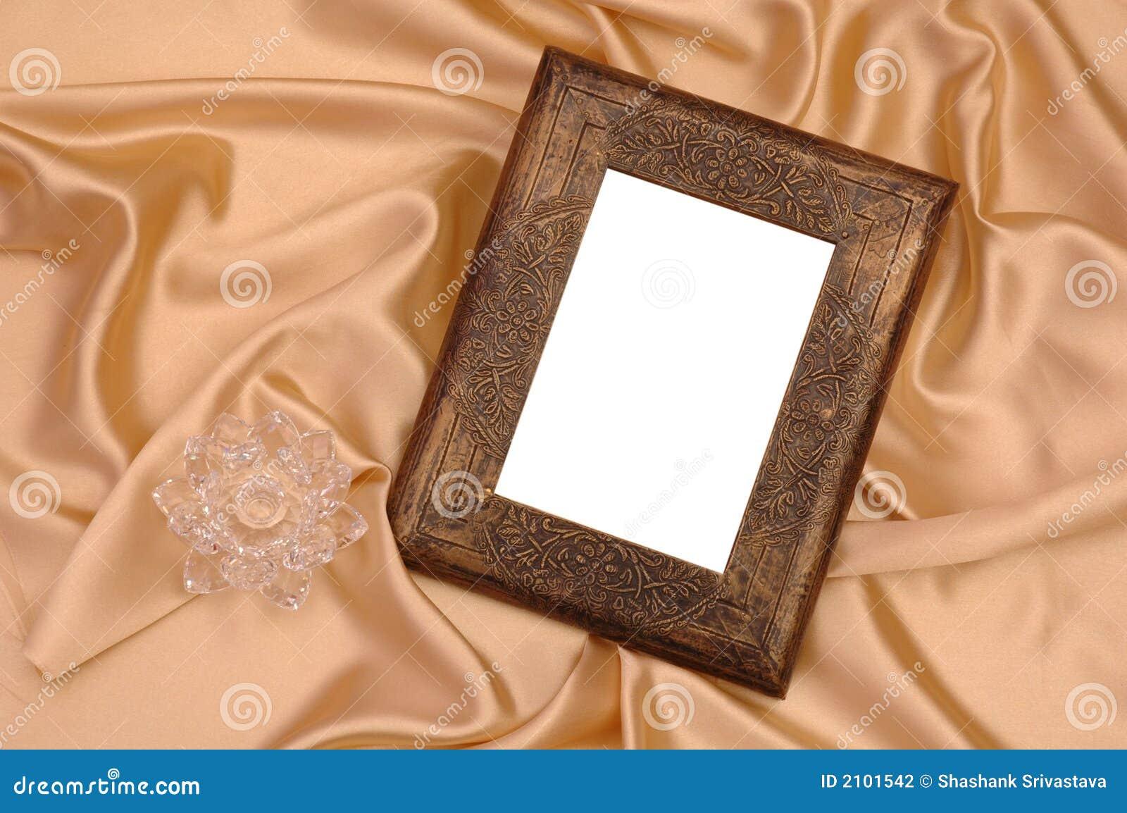 Zdjęcie ramowy jedwab