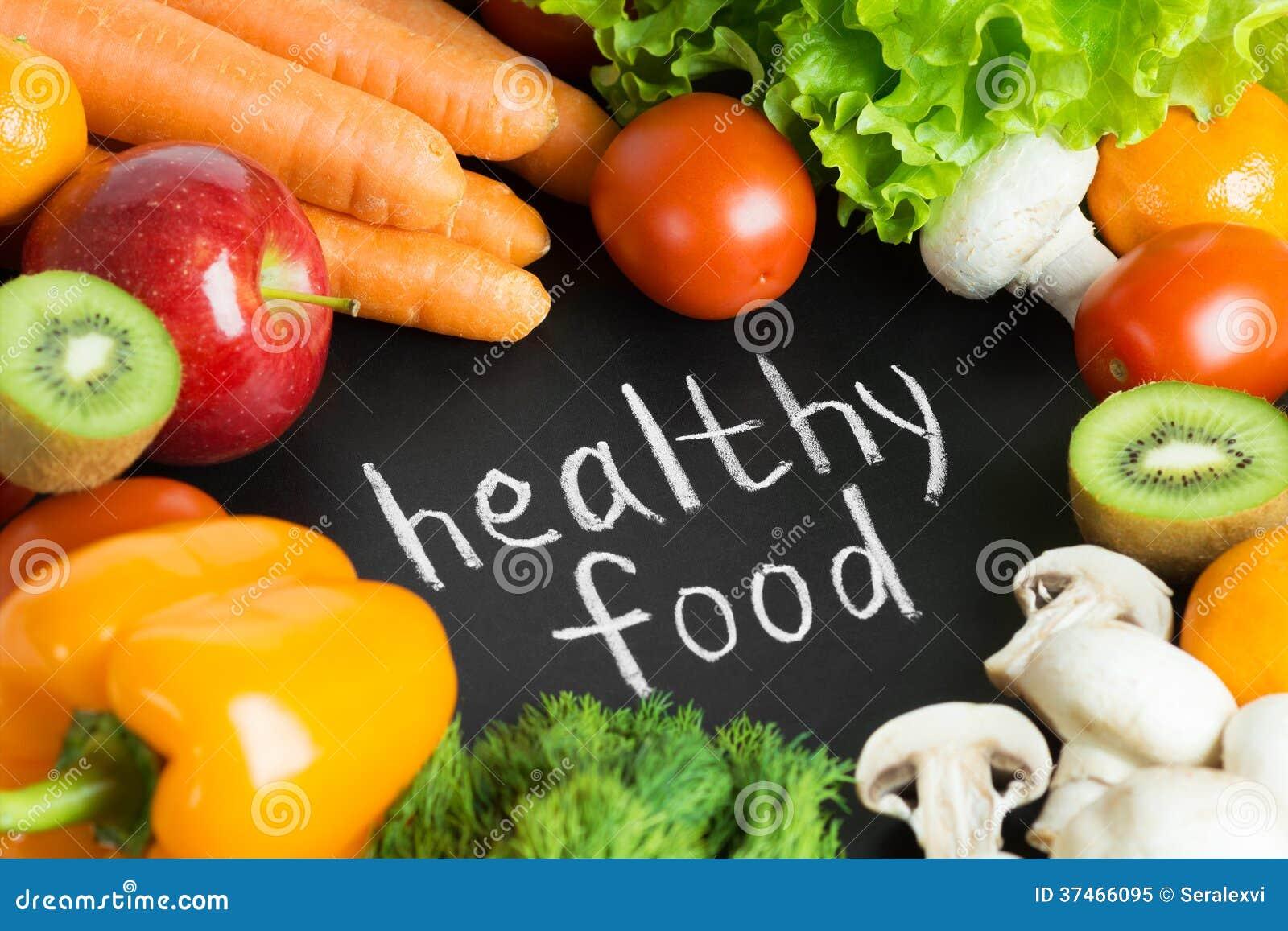 Zdrowa świeża żywność