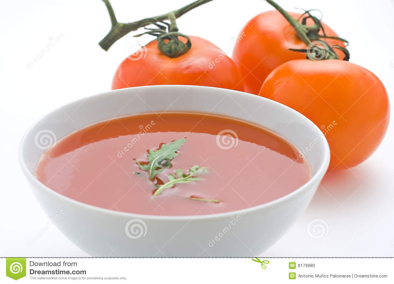 Zdrowi domowej roboty zupni pomidorowi warzywa