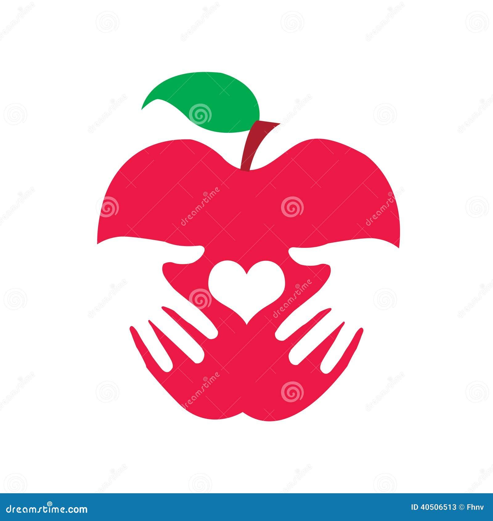 Zdrowia jabłka logo