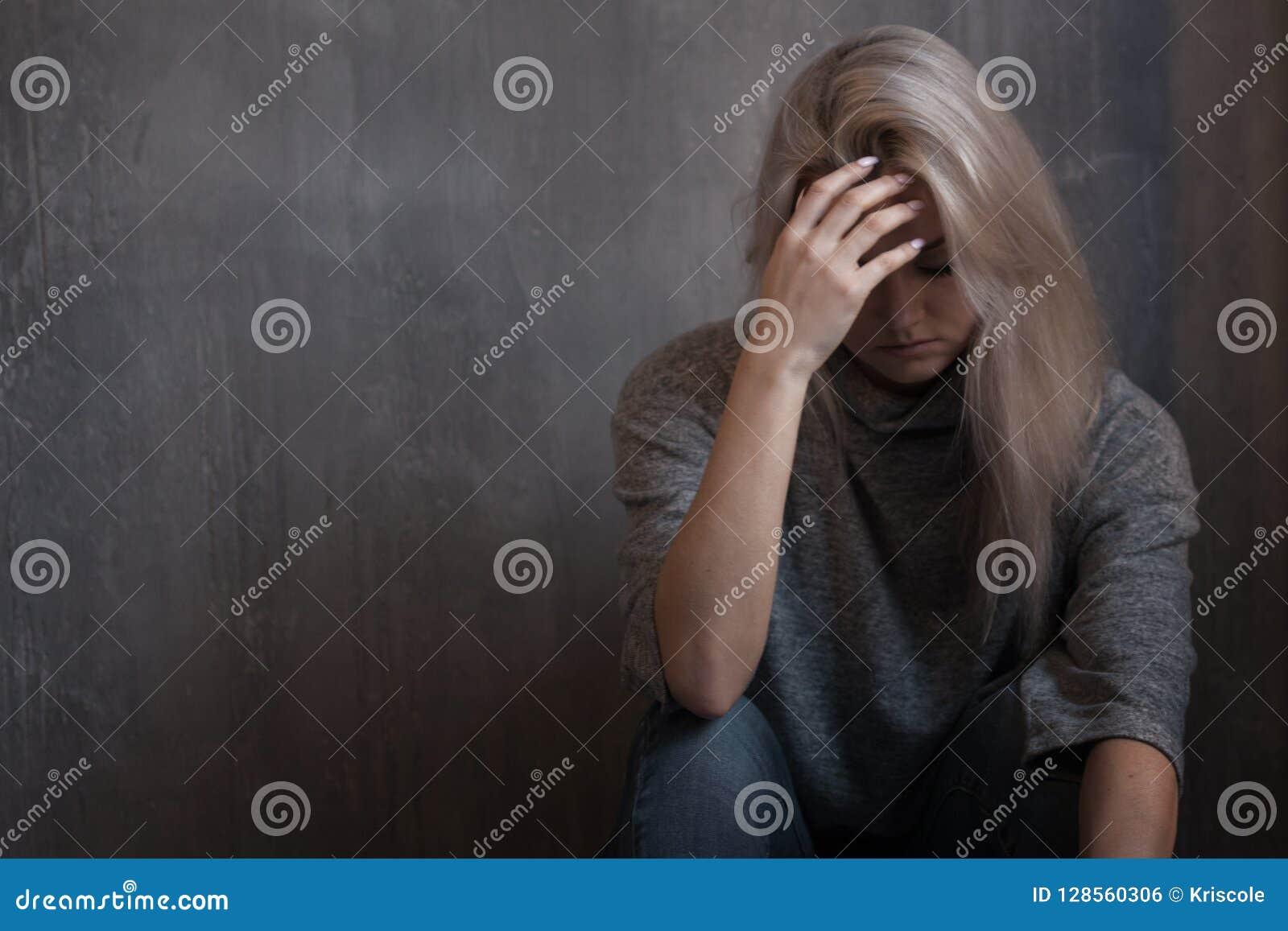 Zdrowie mentalne kobiet podłogowi łgarscy potomstwa