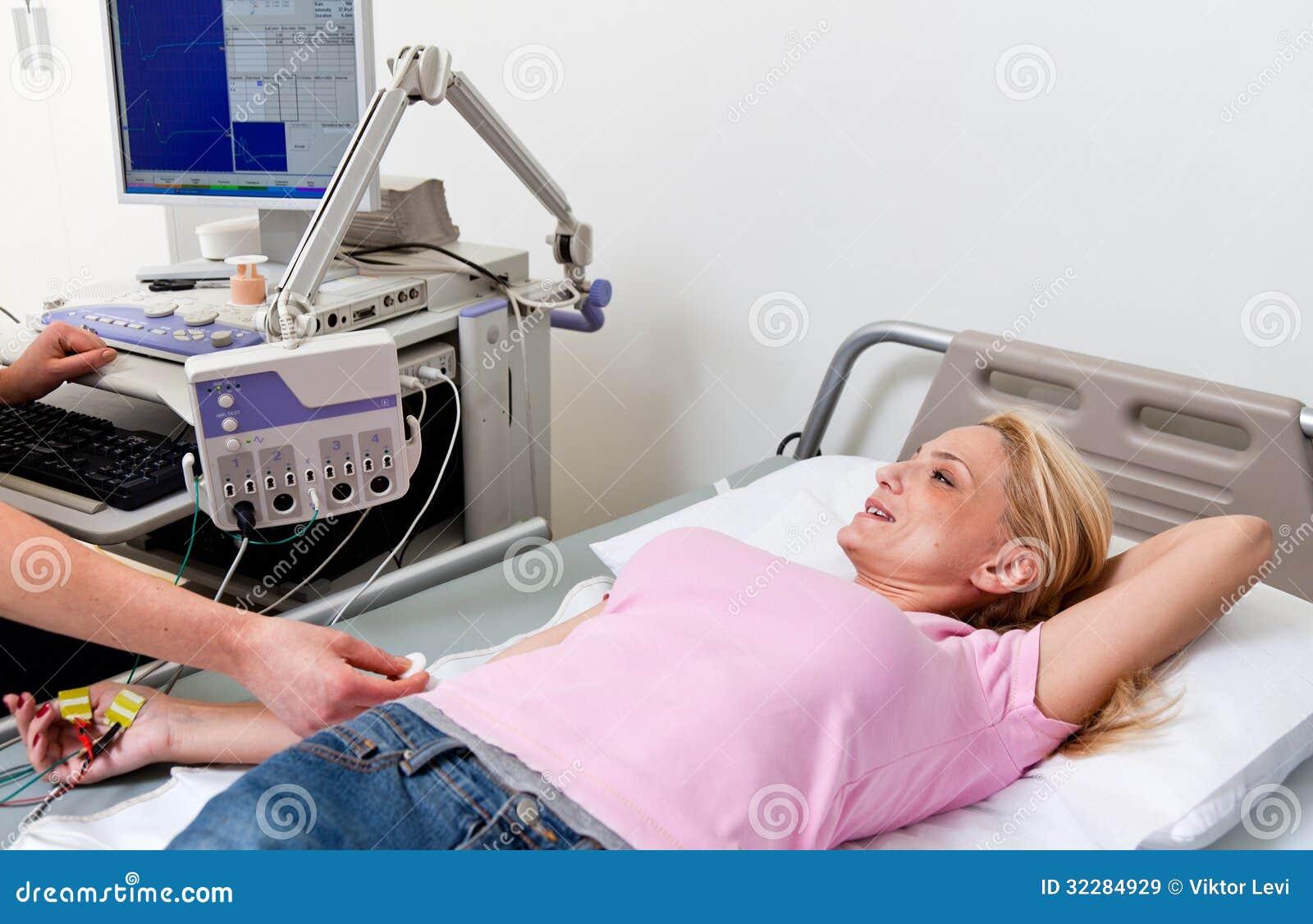 Zdrowie opieki zdrowotnej electromyography szpitalny egzamin