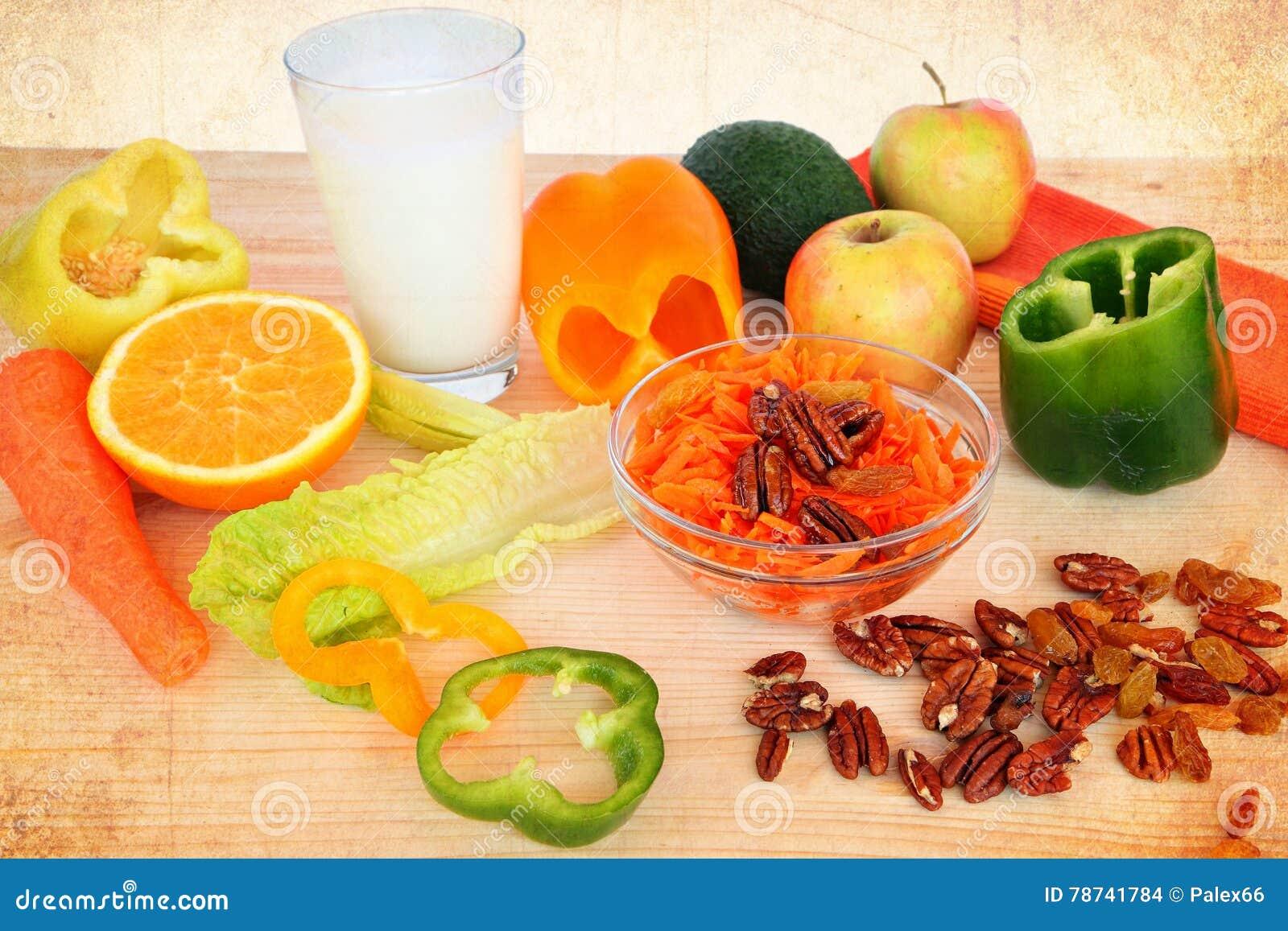 Zdrowy jedzenie dla śniadania lub chałupy