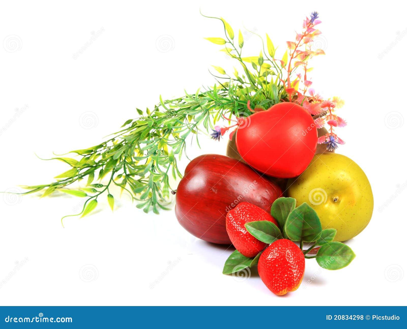 Zdrowy owoc serce