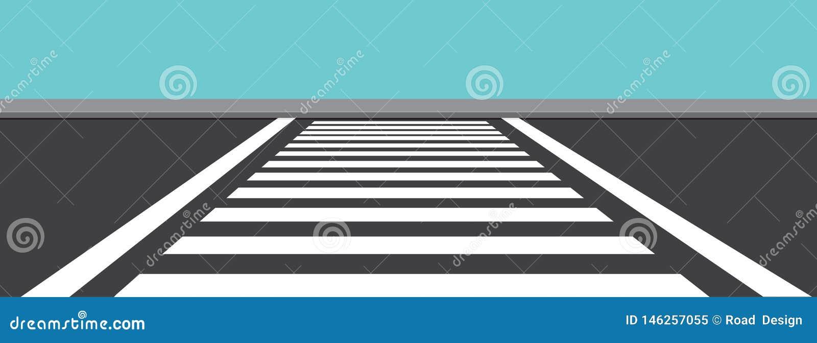 Zebra Bocznego widoku wektoru Przecinająca ilustracja
