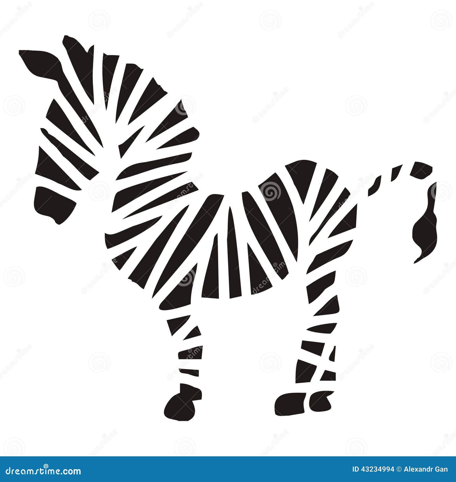 Zebra schematyczna