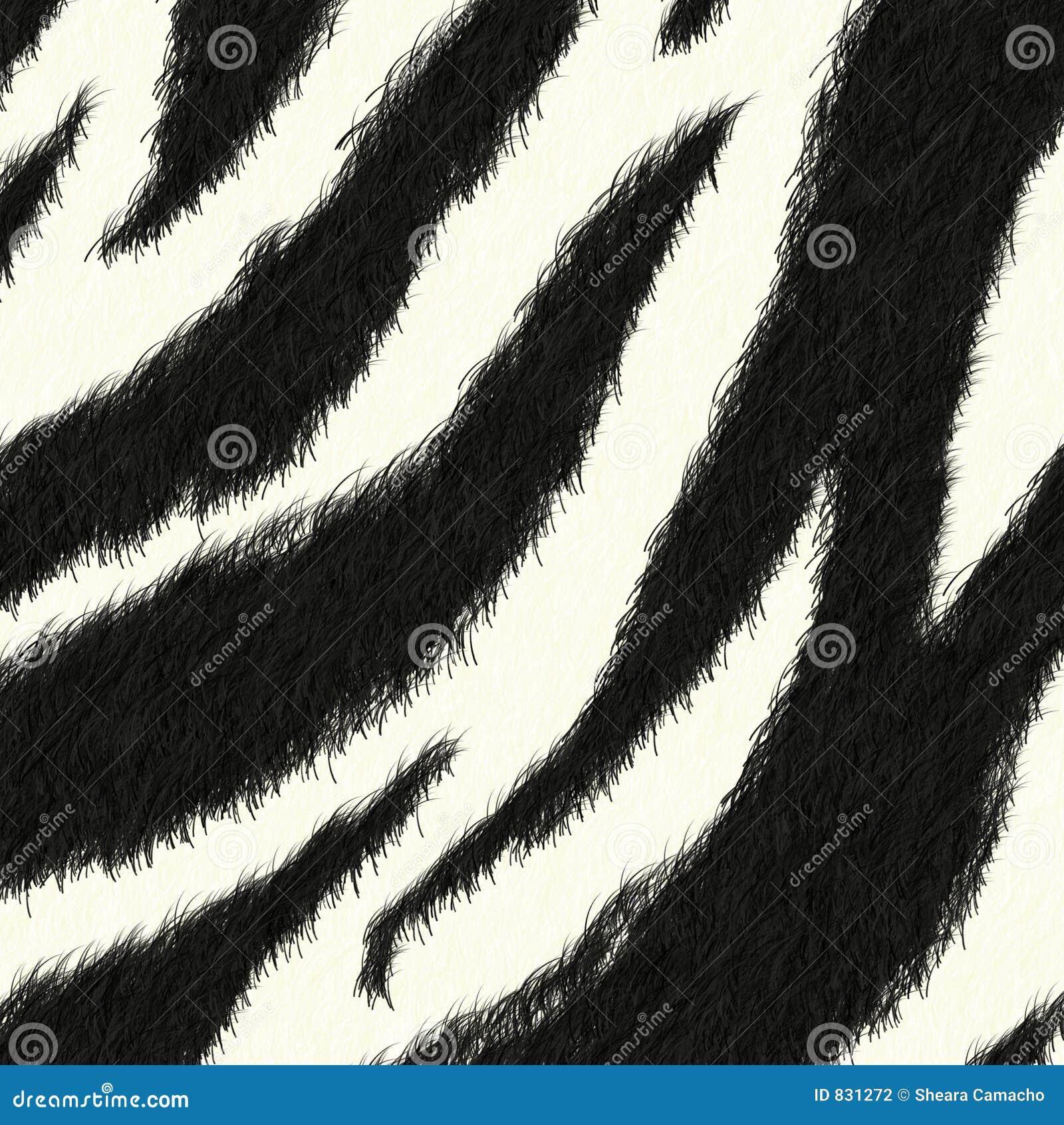 Zebra skin pattern background