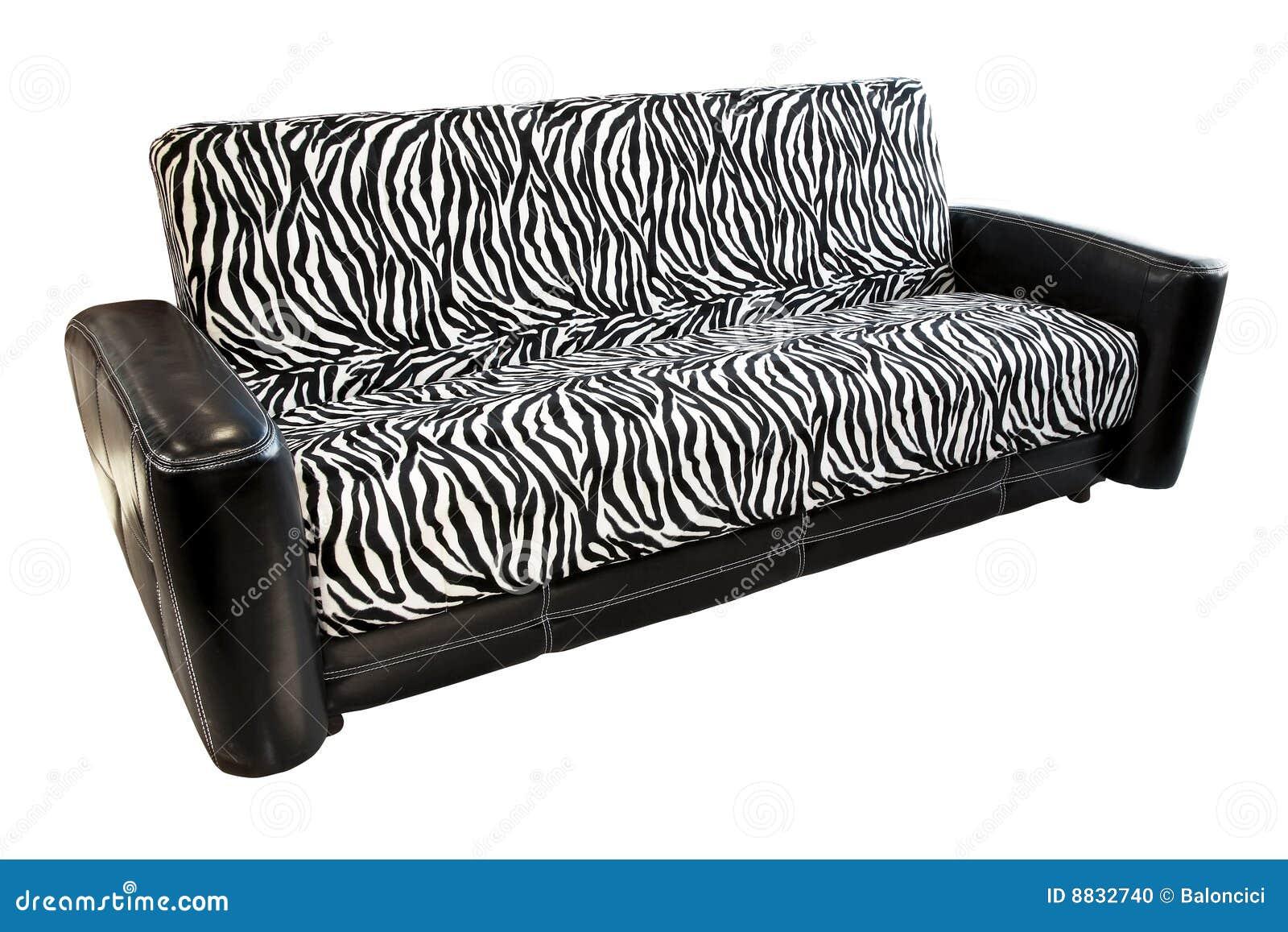 Zebra Sofa Stock Photo Image 8832740