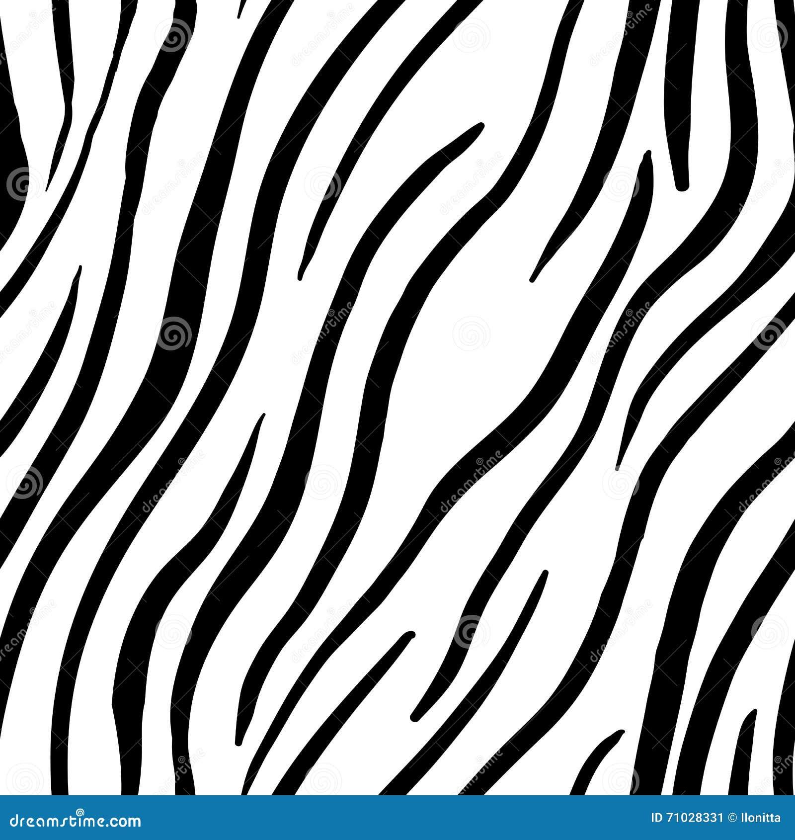 Royalty-Free Vector. Download Zebra Stripes Seamless Pattern. Print Design  ...