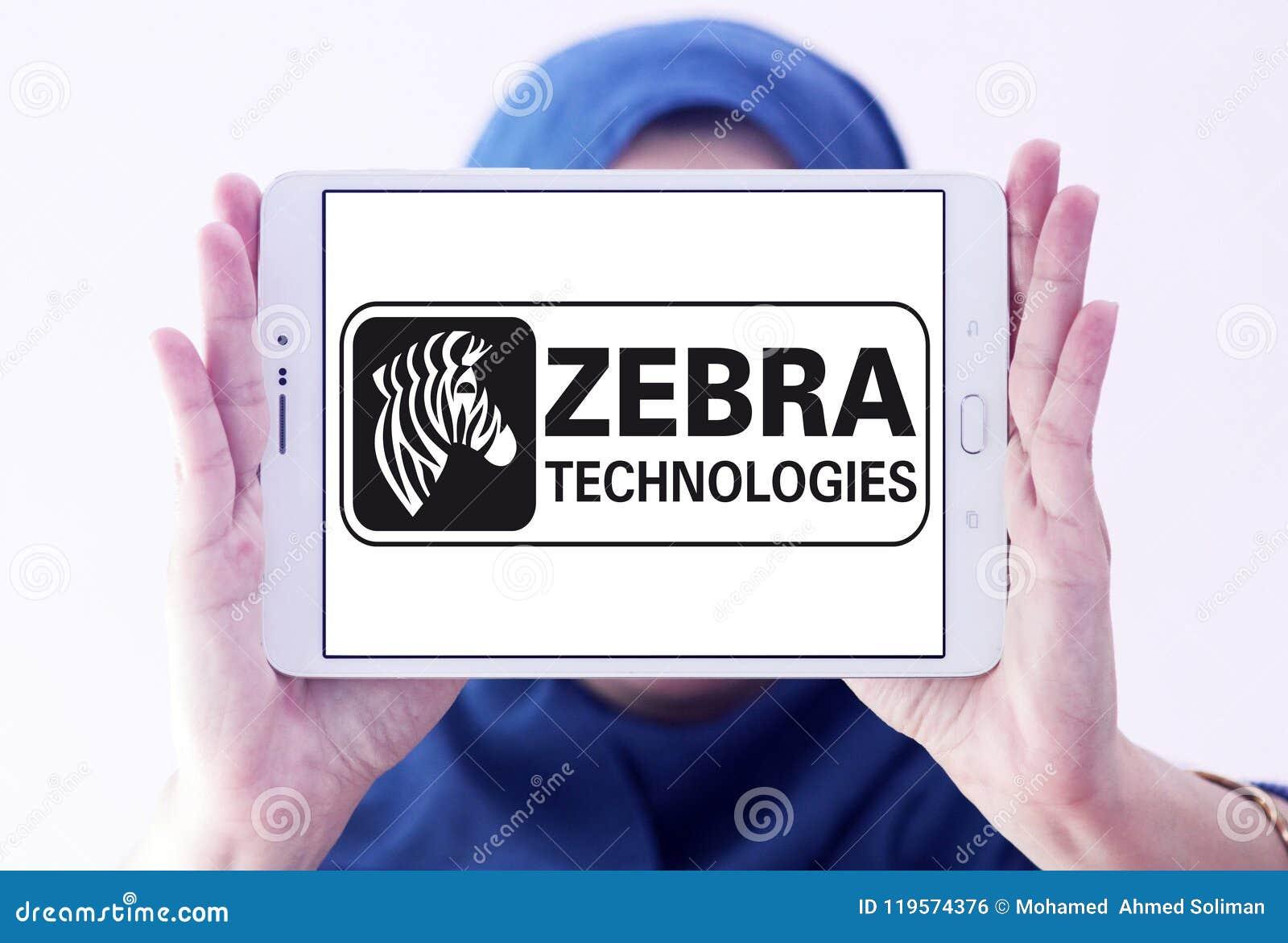 Zebra Technologies Company Logo Editorial Photo - Image of hardware