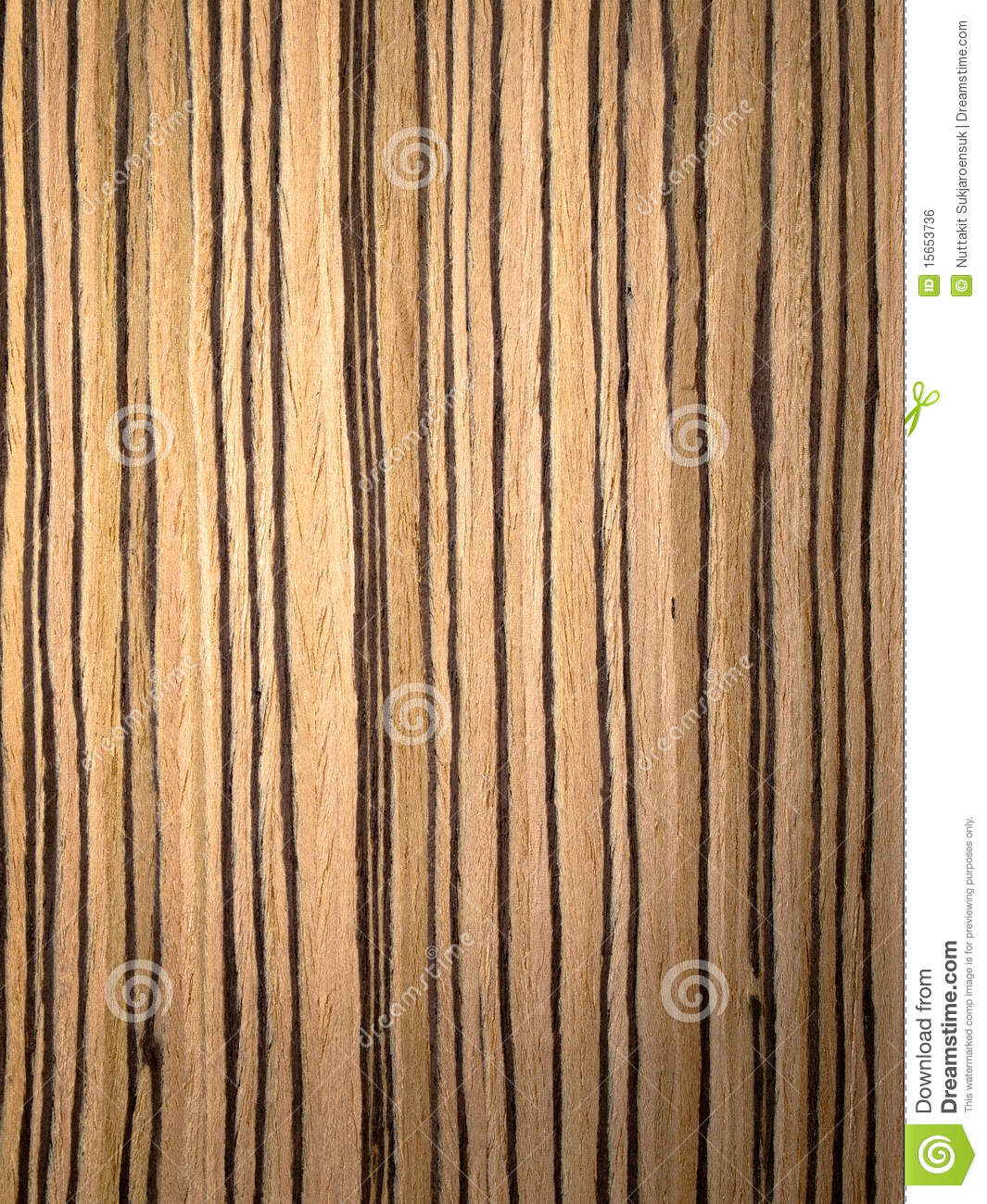Zebrano Wood Texture Royalty Free Stock Image - Image: 15653736