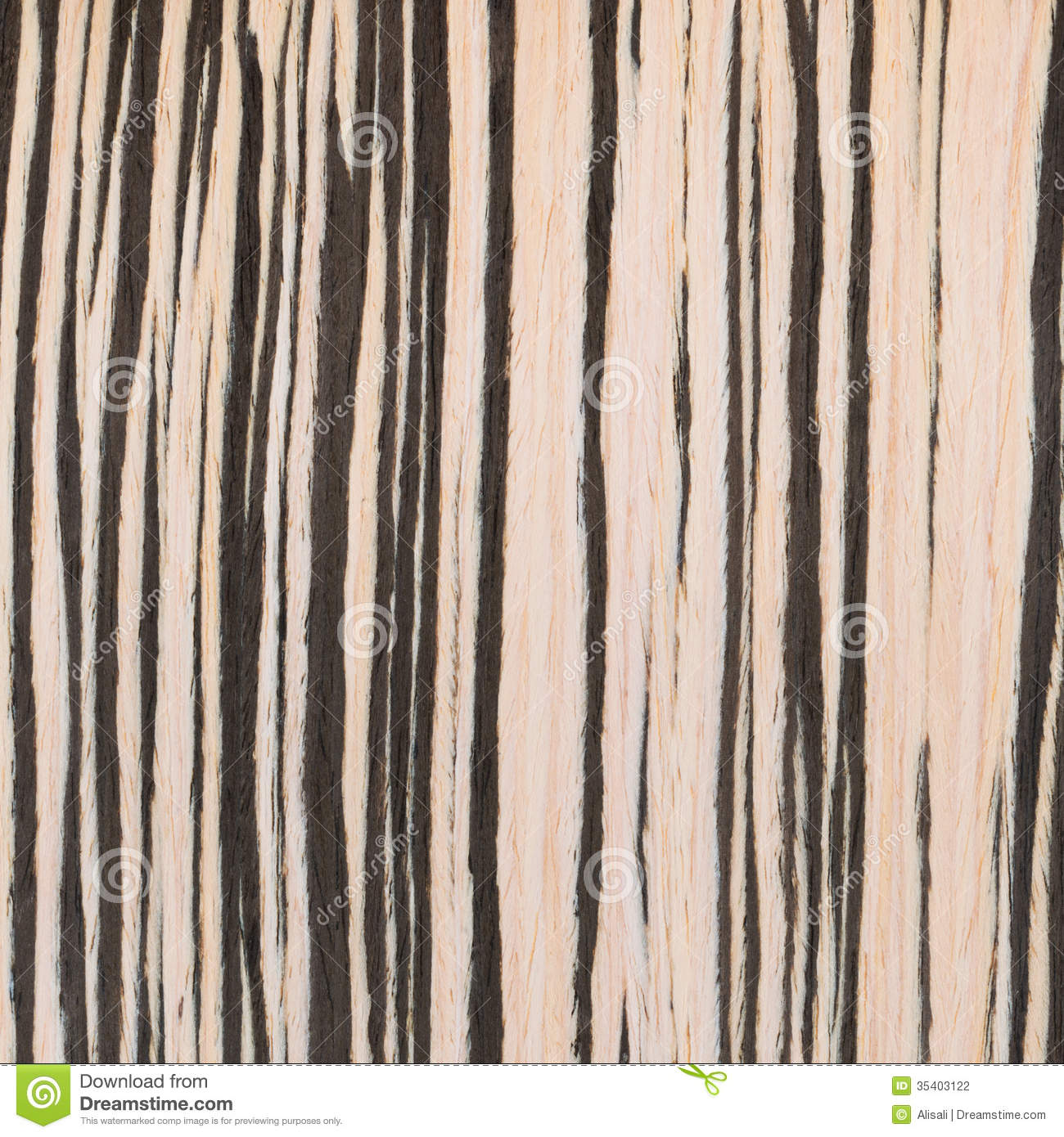 Zebrano Wood Texture, Wood Grain Stock Photography - Image: 35403122