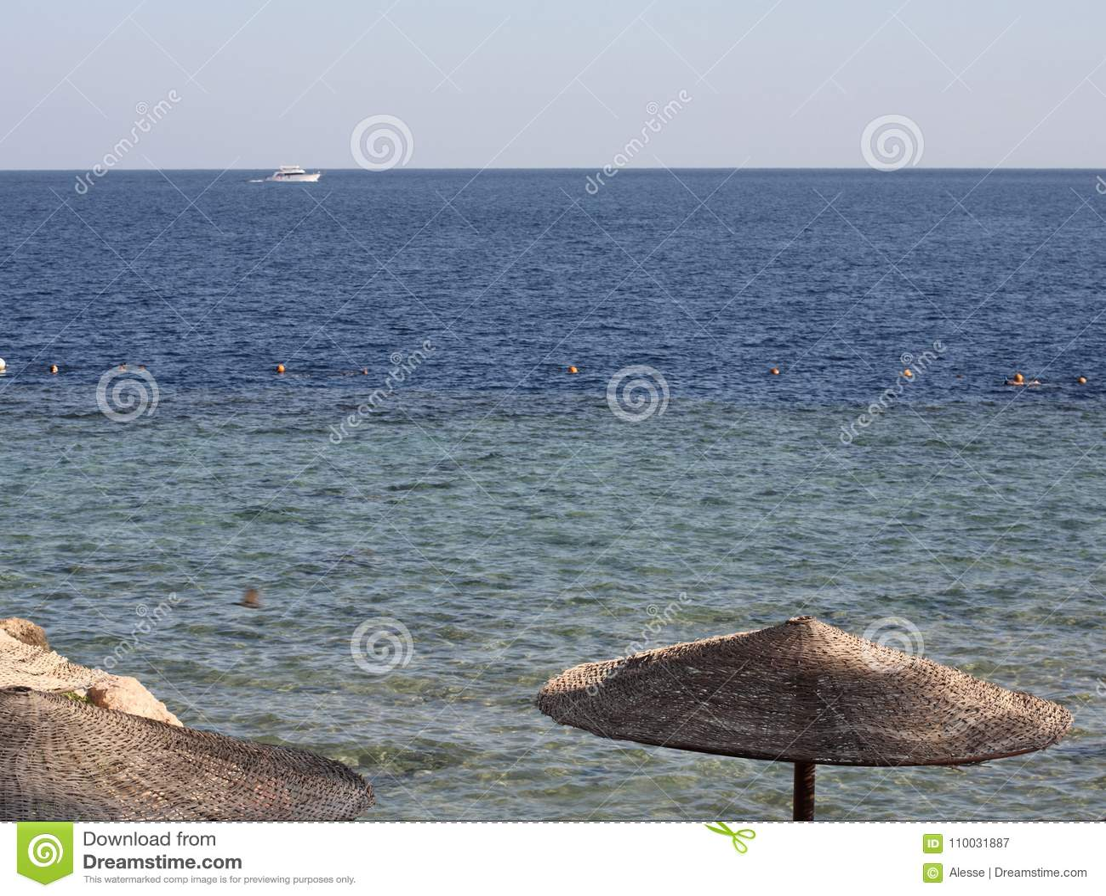 Zeegezicht, Egypte, Sharm el Sheikh