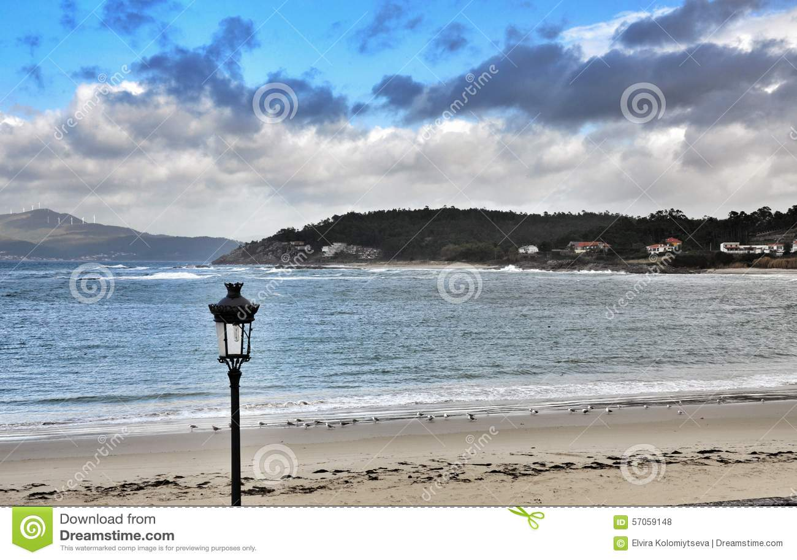 Zeegezicht Porto doet Zoon