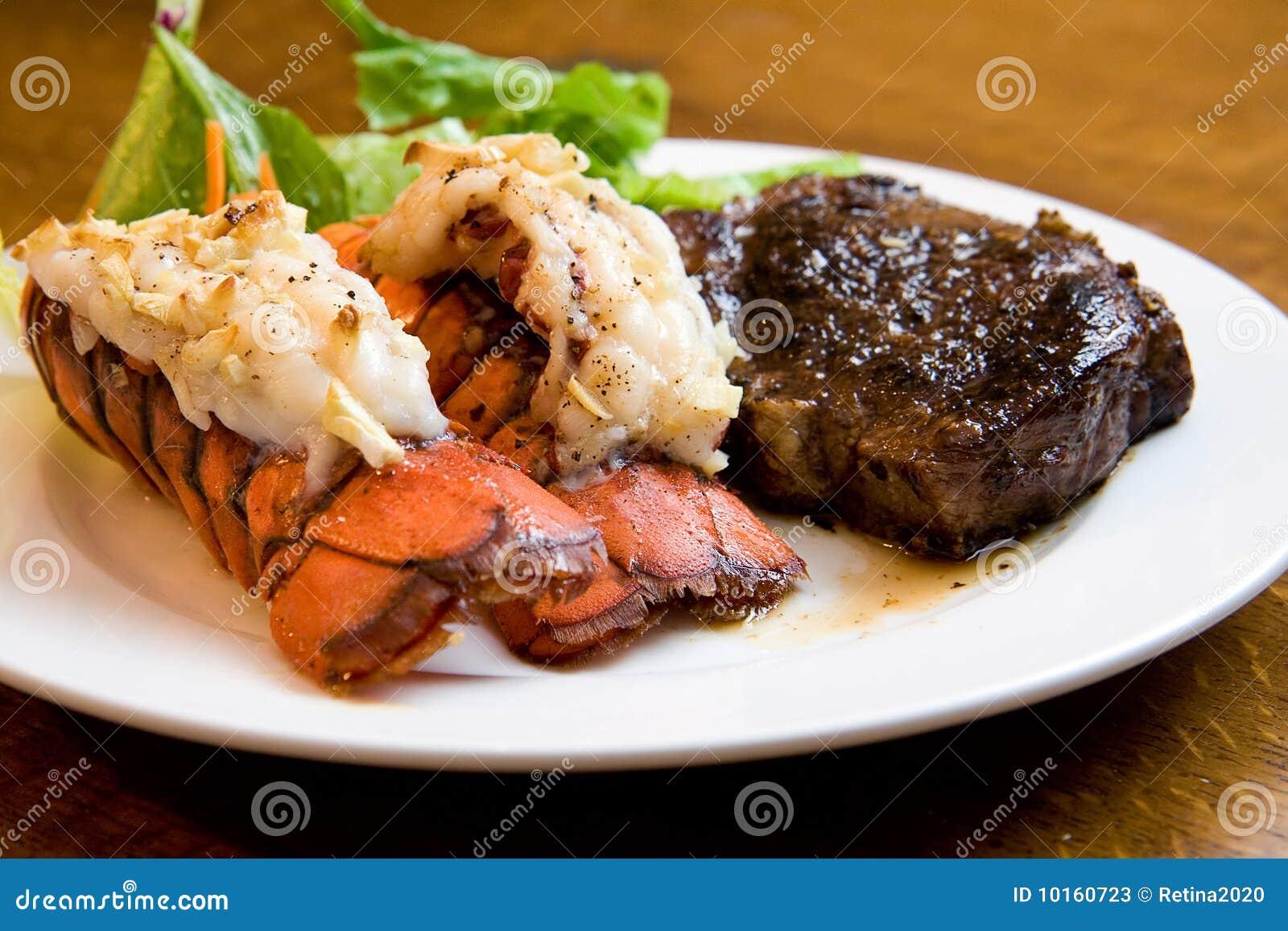 Zeekreeft en Lapje vlees