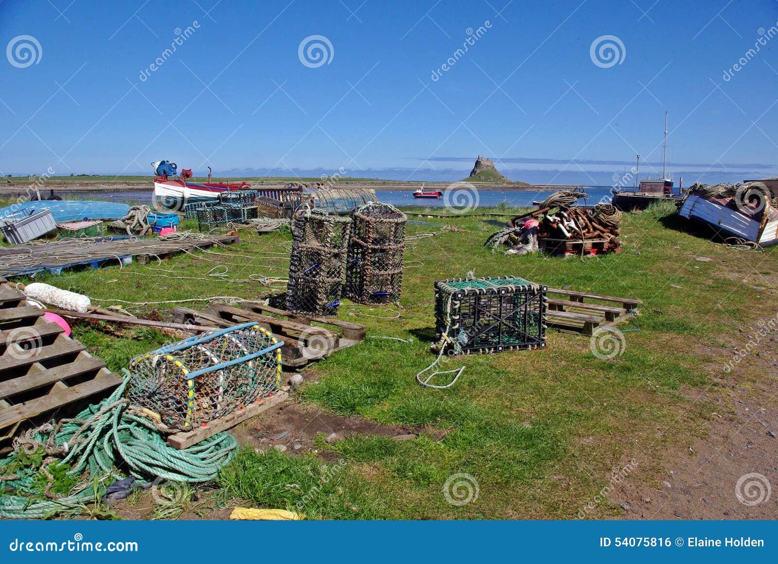Zeekreeftpotten en kasteel