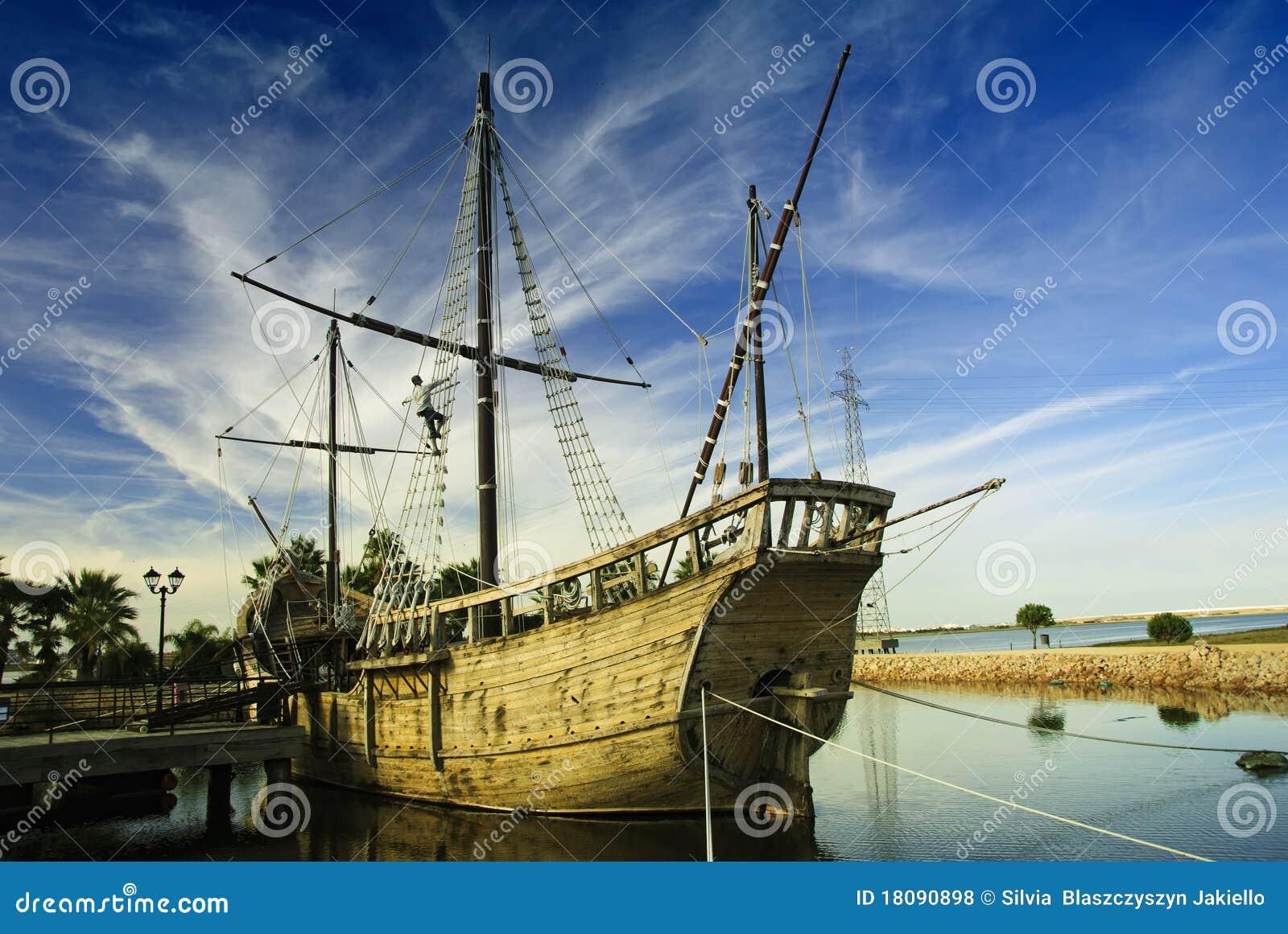 Zeeman, Christoffel Colombus - Het detail van het Schip.