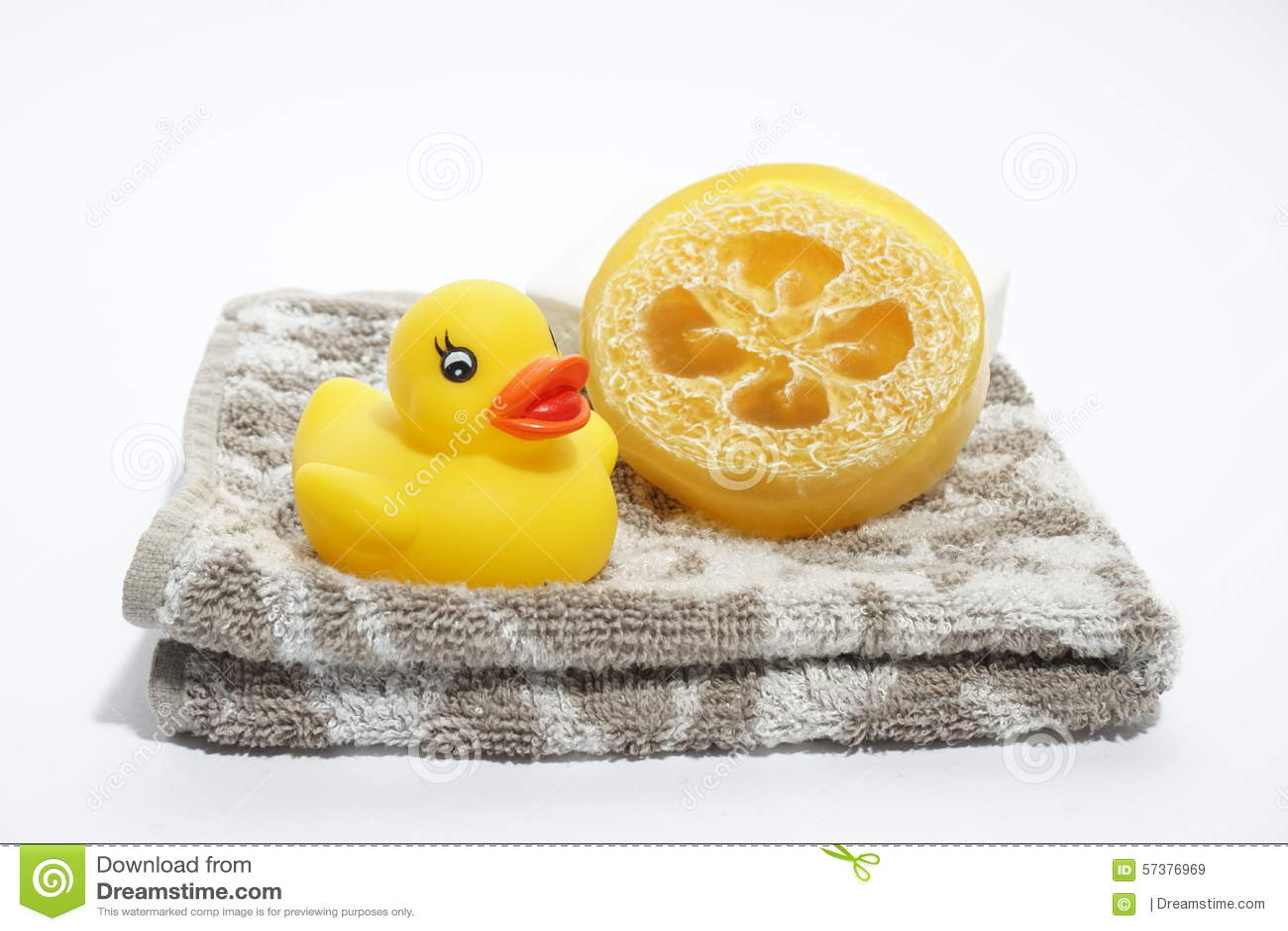 Zeep en handdoek
