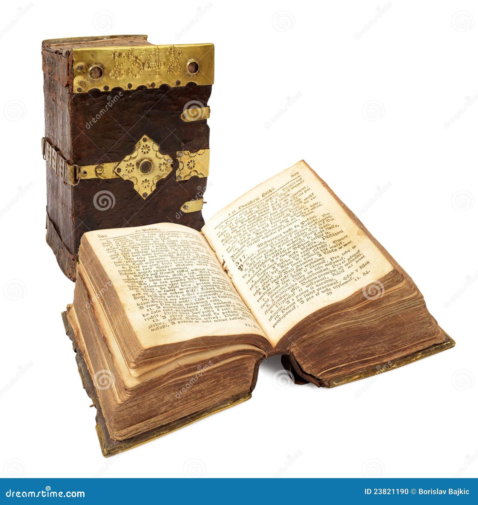 Zeer oud boek