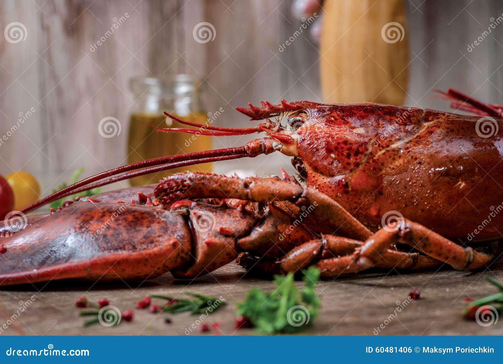 Zeevruchtenzeekreeften Verse mooie grote overzeese zeekreeften heerlijk